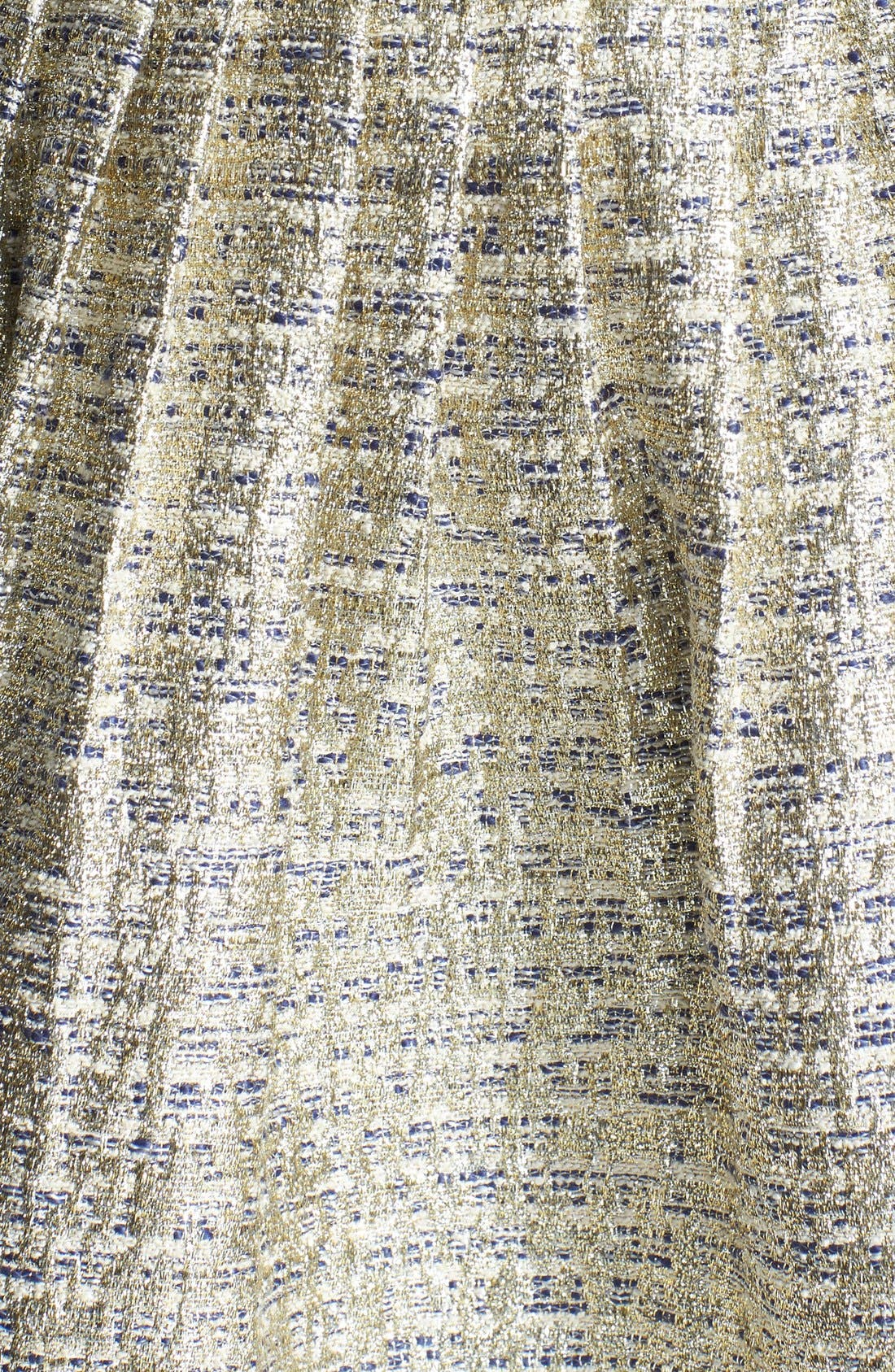 A. DREA,                             Metallic Strapless Skater Dress,                             Alternate thumbnail 3, color,                             710