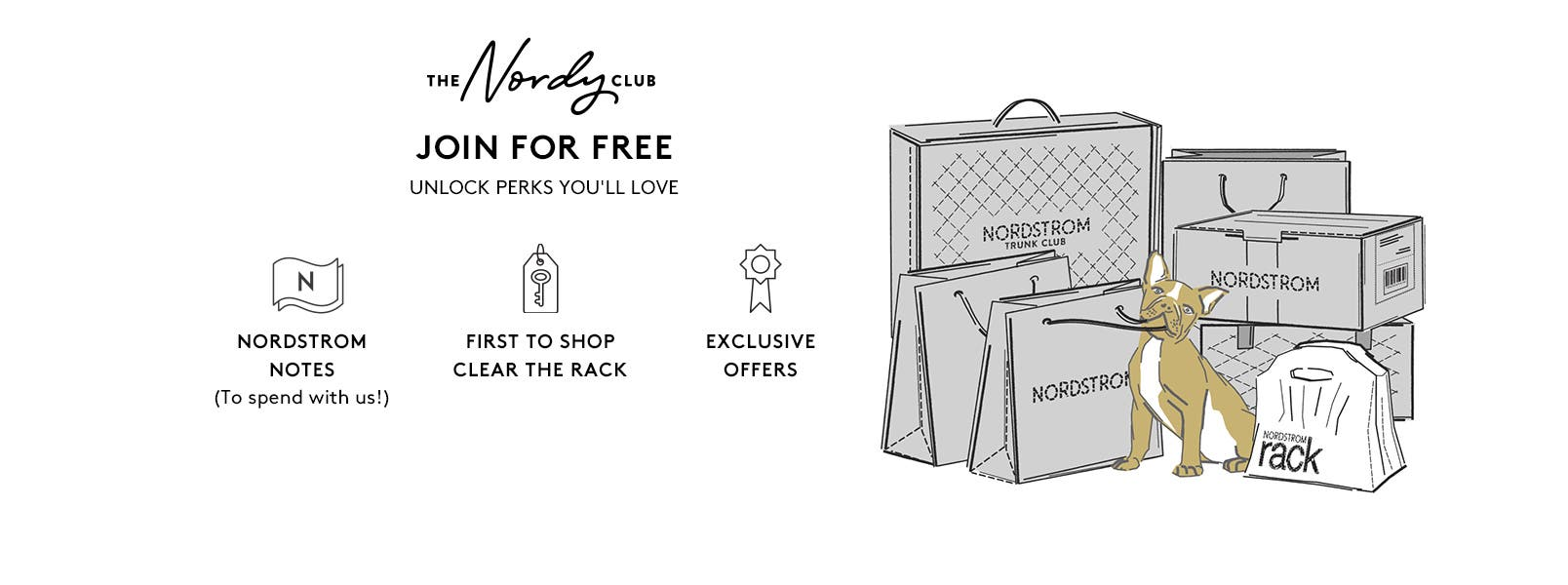 Join The Nordy Club for free to get Nordstrom Notes, First to Shop Clear the Rack access, and exclusive offers. Click to Join Now.