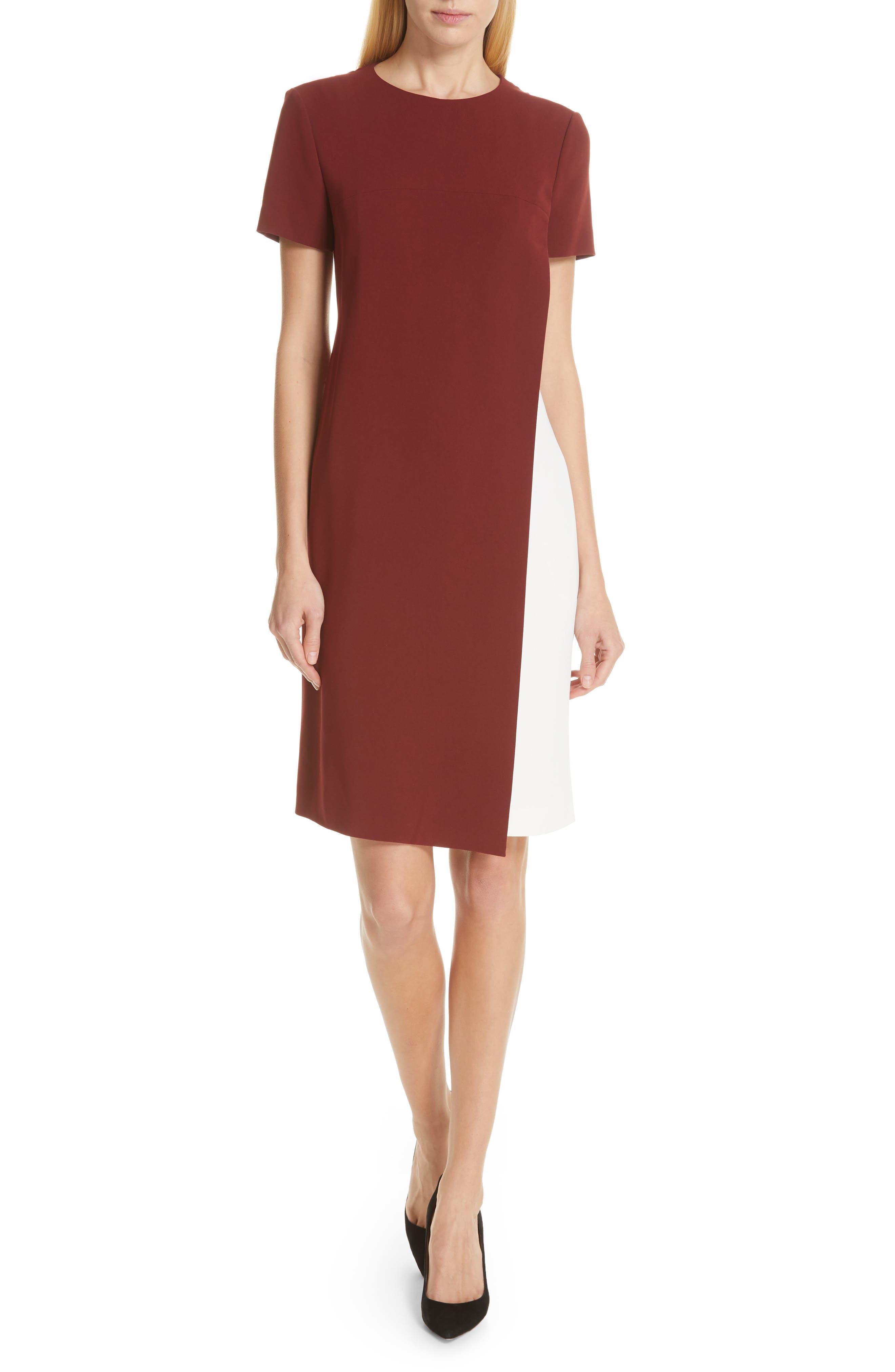 Boss Dresses DULARIS COLORBLOCK SHIFT DRESS