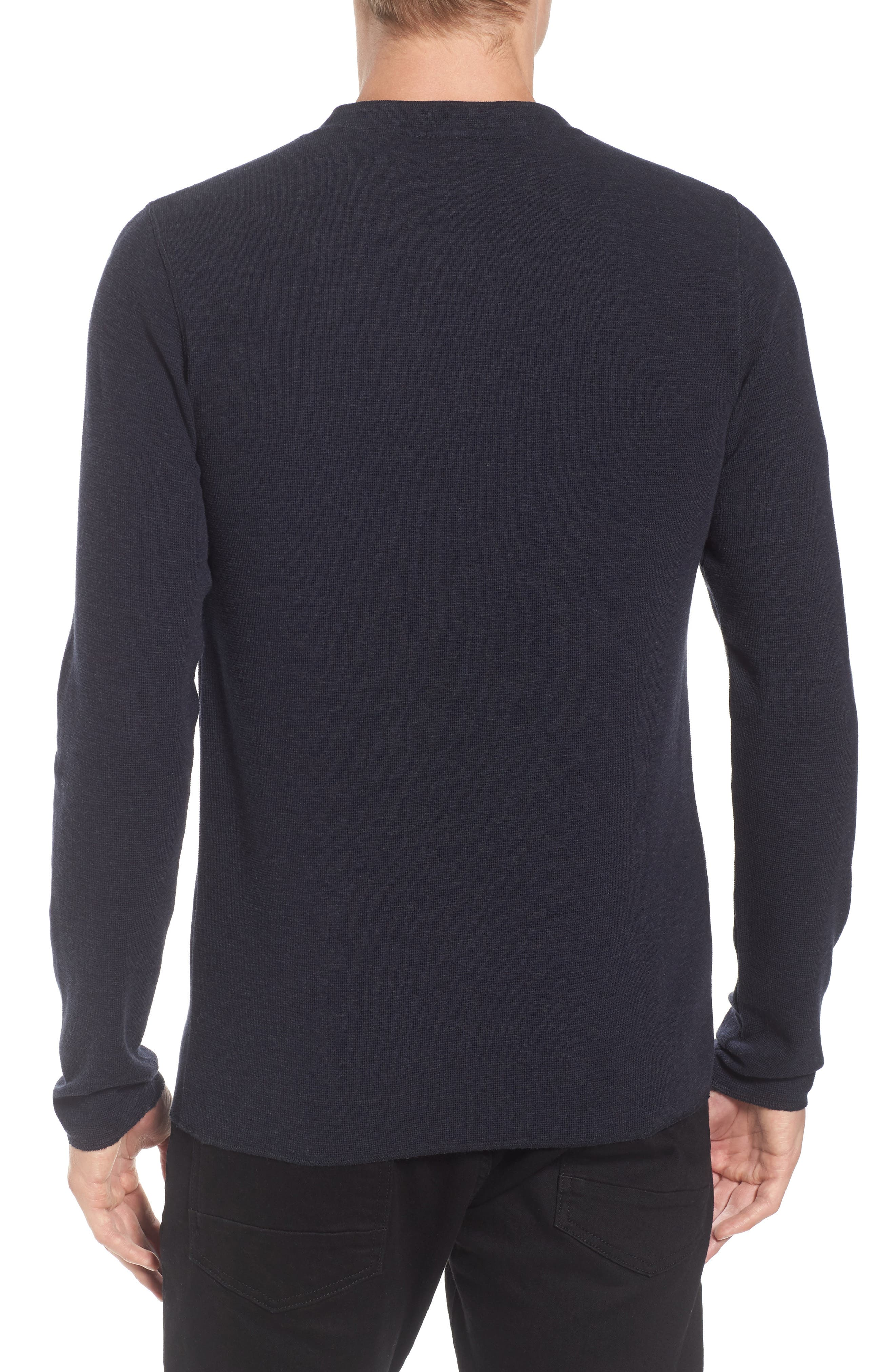 Topsider Thermal Henley,                             Alternate thumbnail 7, color,