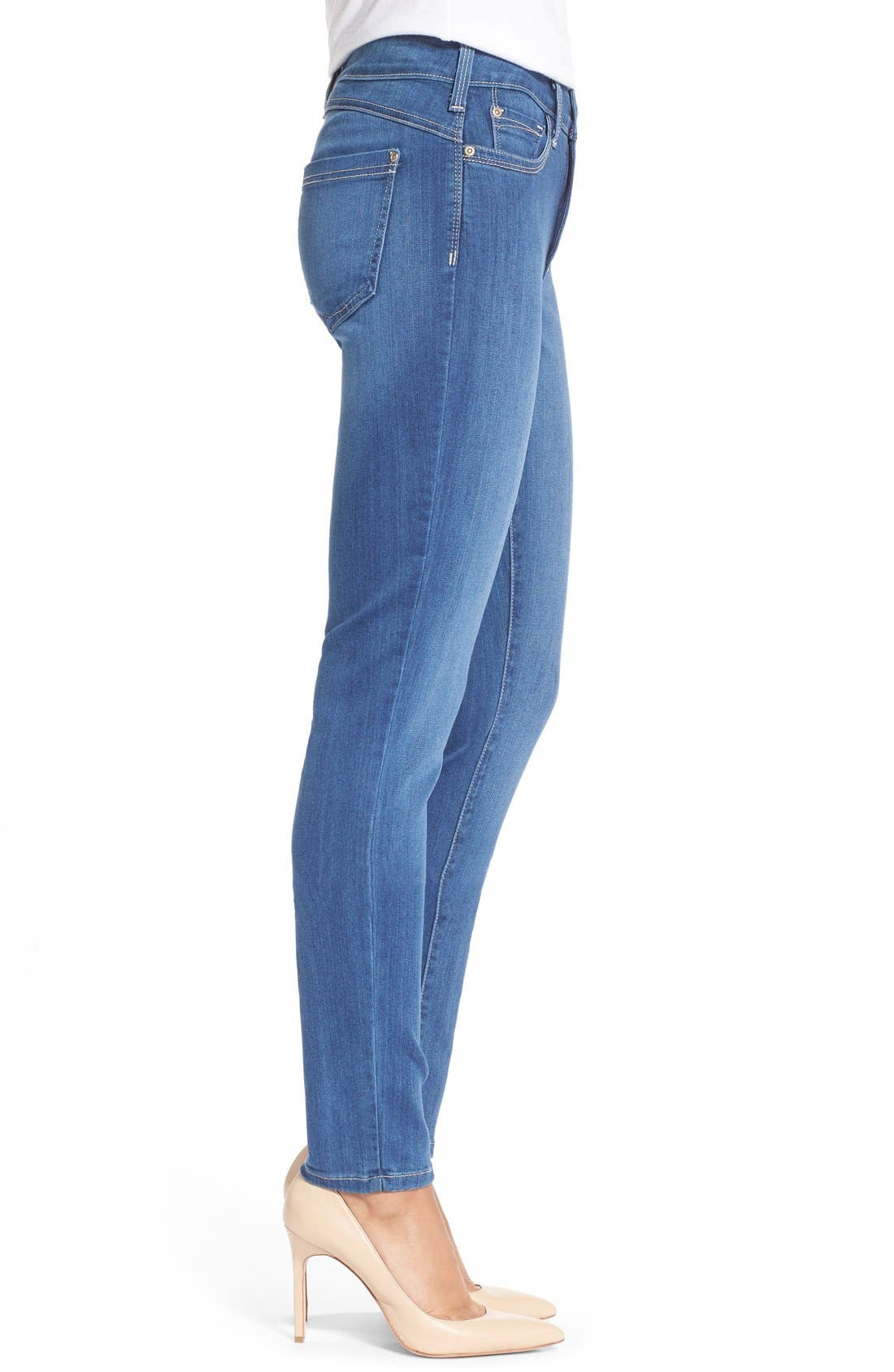 'Ami' Stretch Skinny Jeans,                             Alternate thumbnail 7, color,