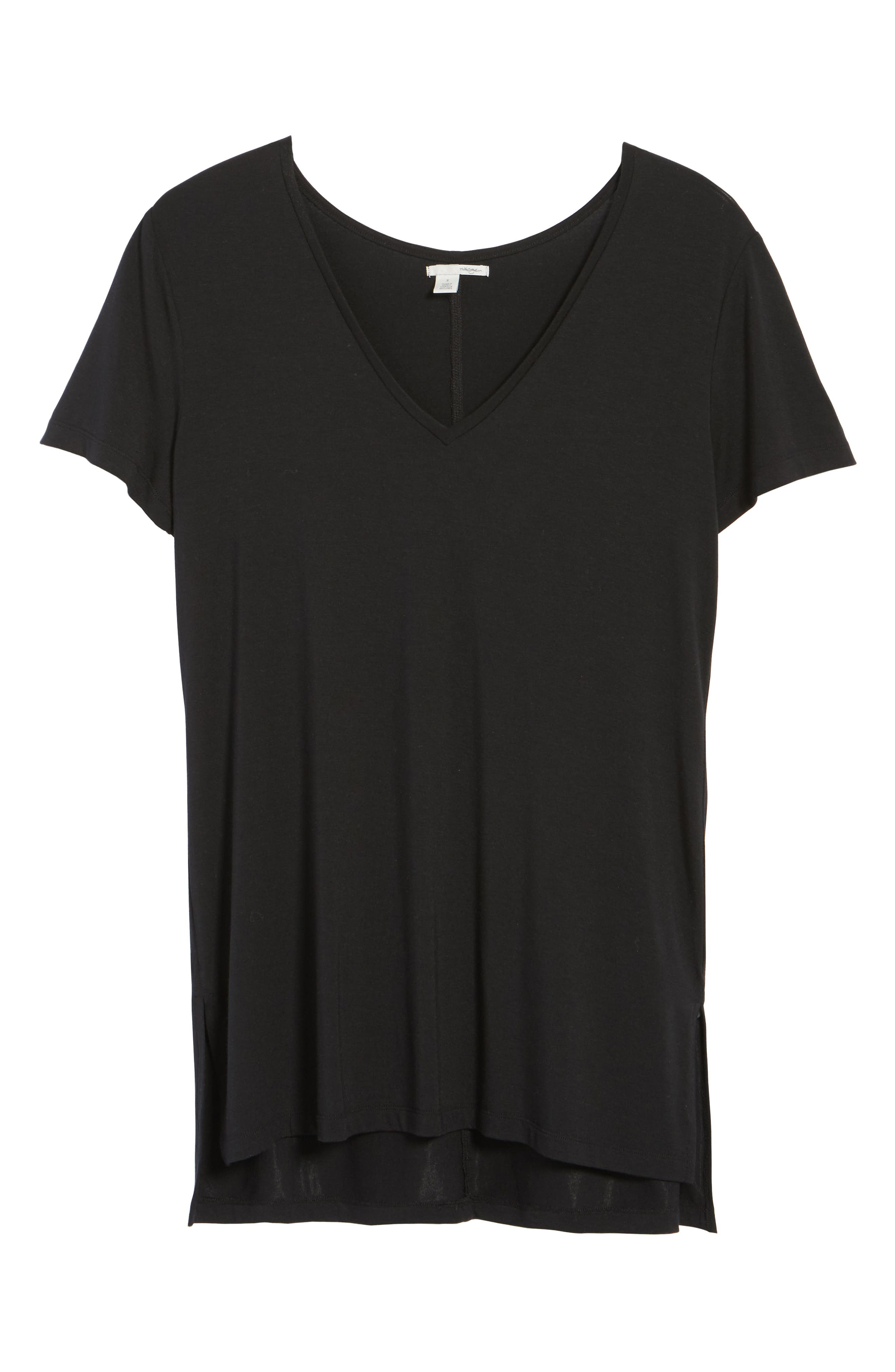 V-Neck Tunic Tee,                             Alternate thumbnail 66, color,