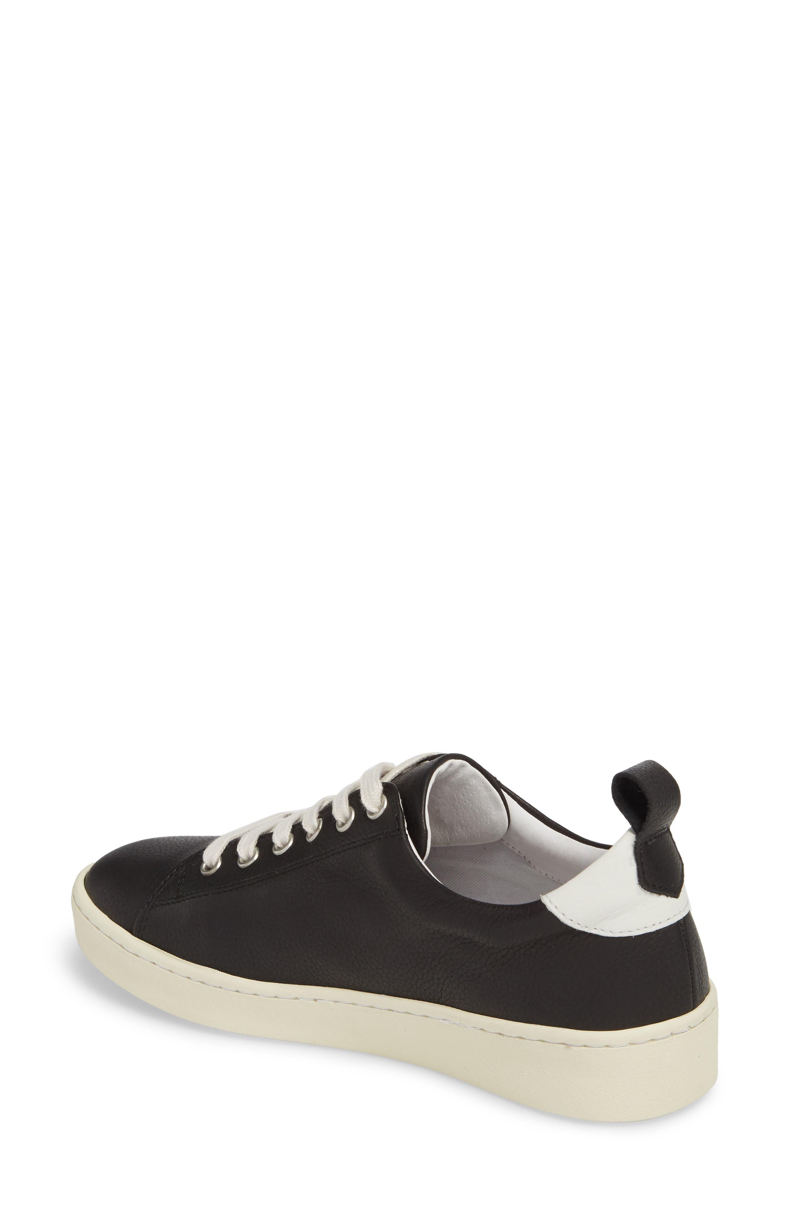 Maku Lace-Up Sneaker,                             Alternate thumbnail 2, color,                             BLACK BRITO LEATHER