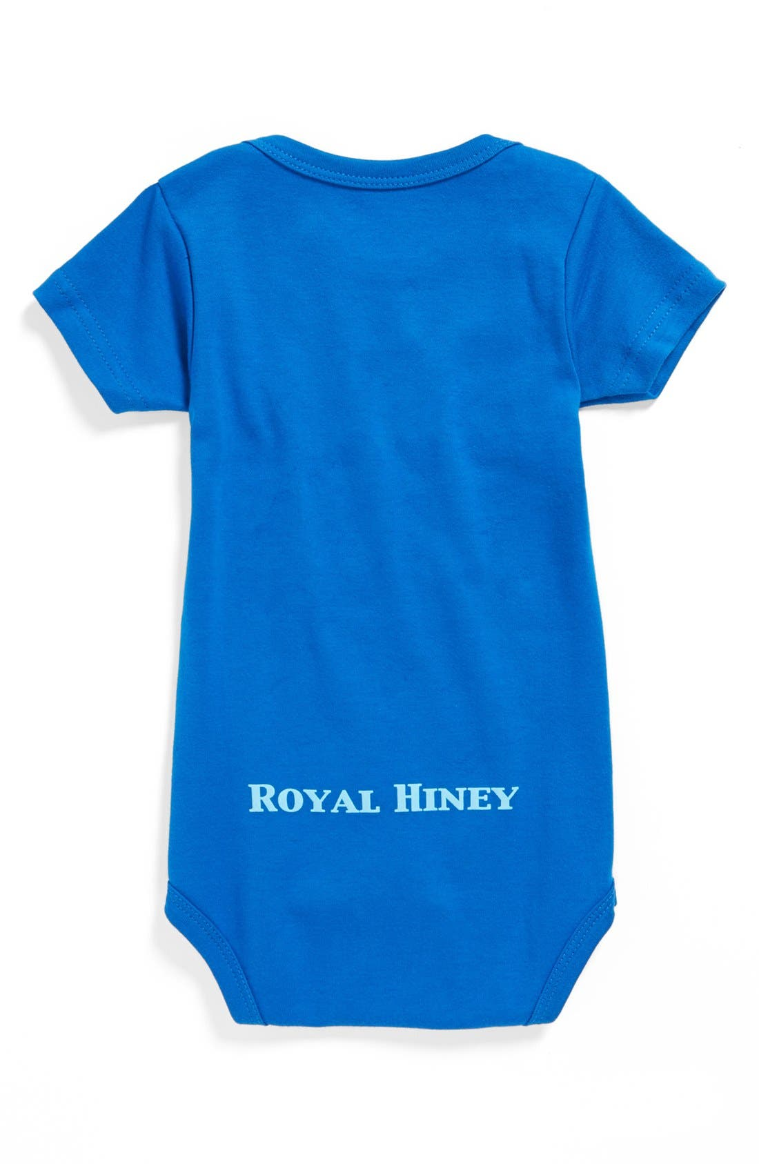 'His Majesty Has Arrived' Bodysuit,                             Alternate thumbnail 2, color,                             ROYAL BLUE