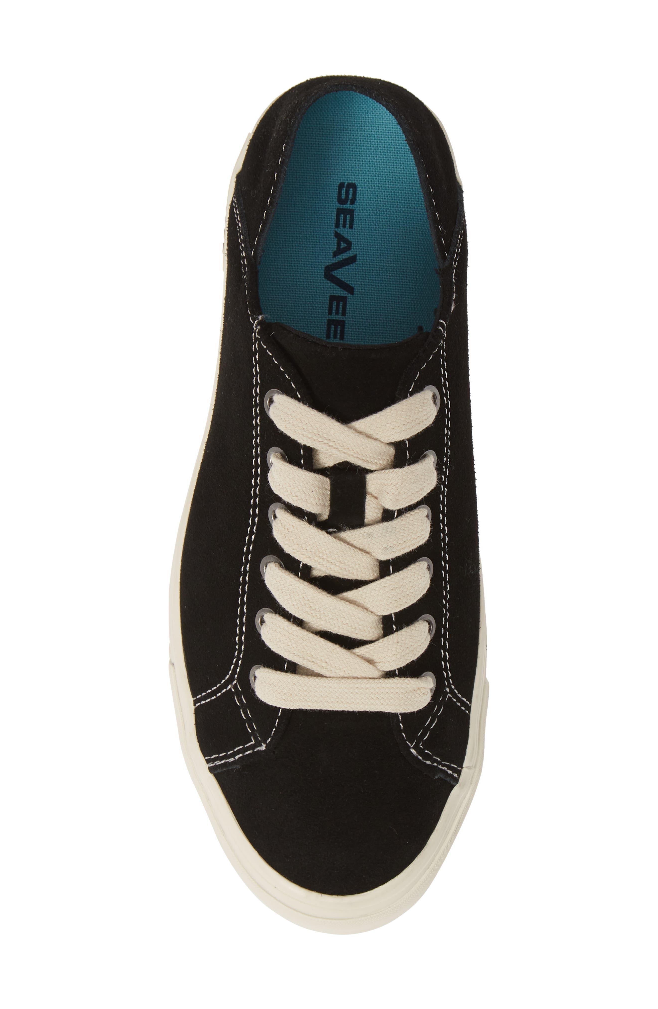 SEAVEES,                             Sausalito Sneaker,                             Alternate thumbnail 5, color,                             BLACK/ BLACK