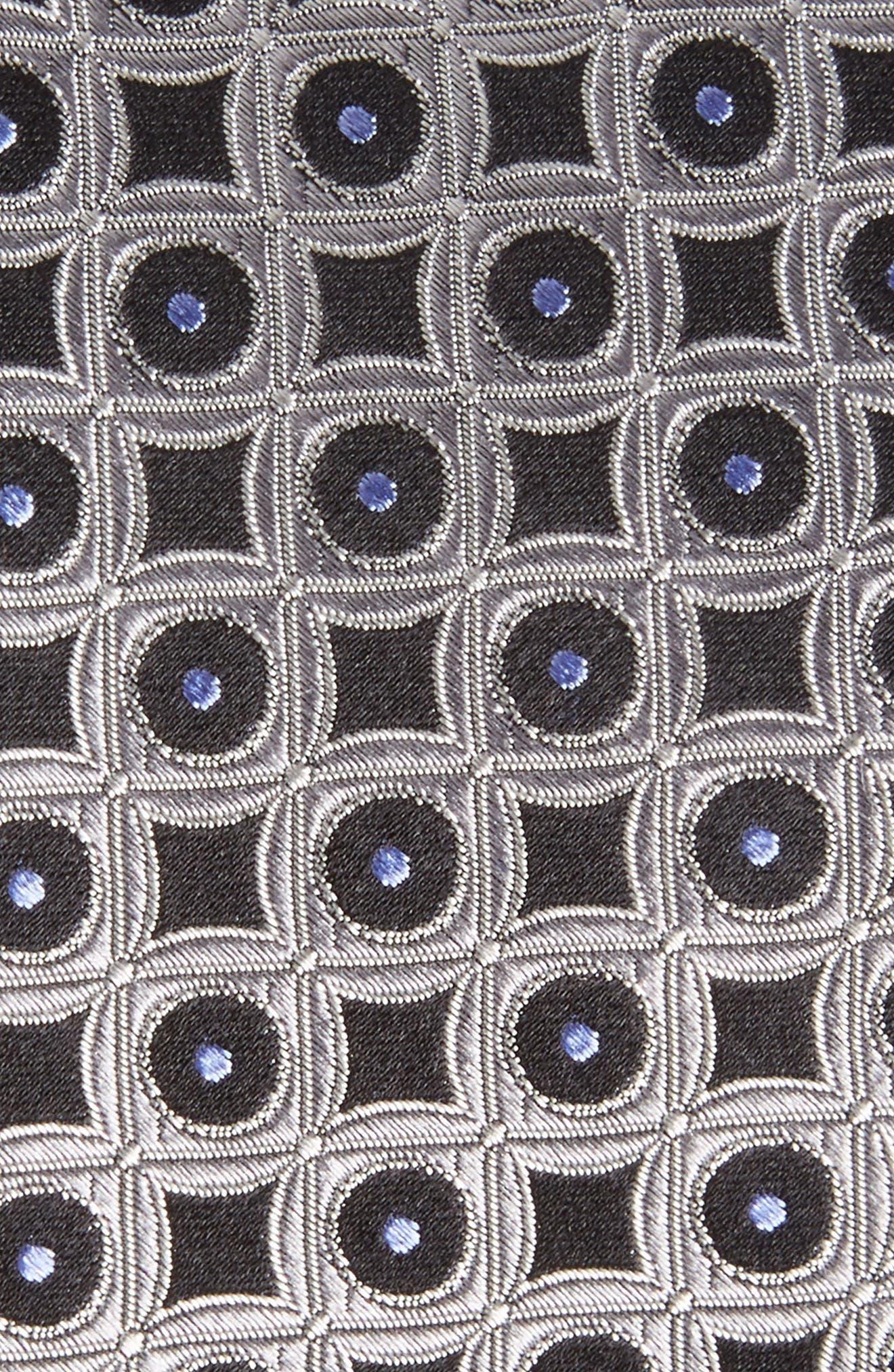 Criss Cross Geometric Silk Tie,                             Alternate thumbnail 2, color,                             040
