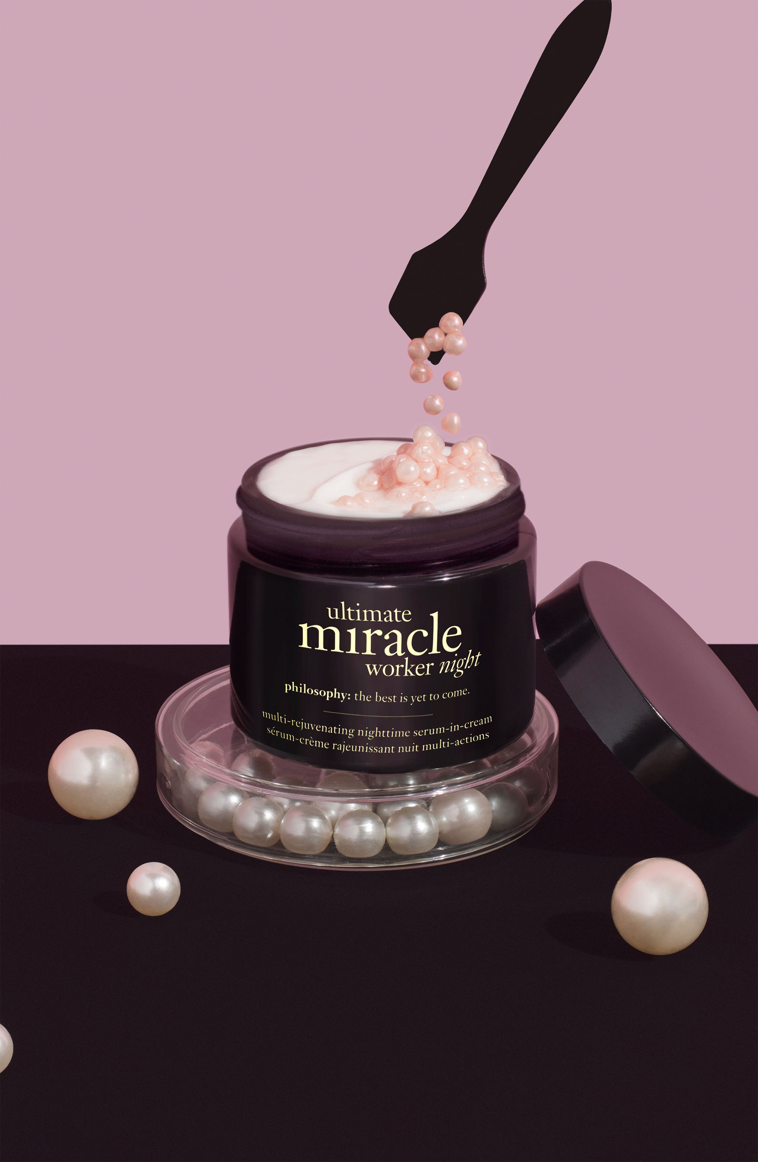 'ultimate miracle worker night' multi-rejuvenating nighttime serum-in-cream,                             Alternate thumbnail 6, color,                             NO COLOR