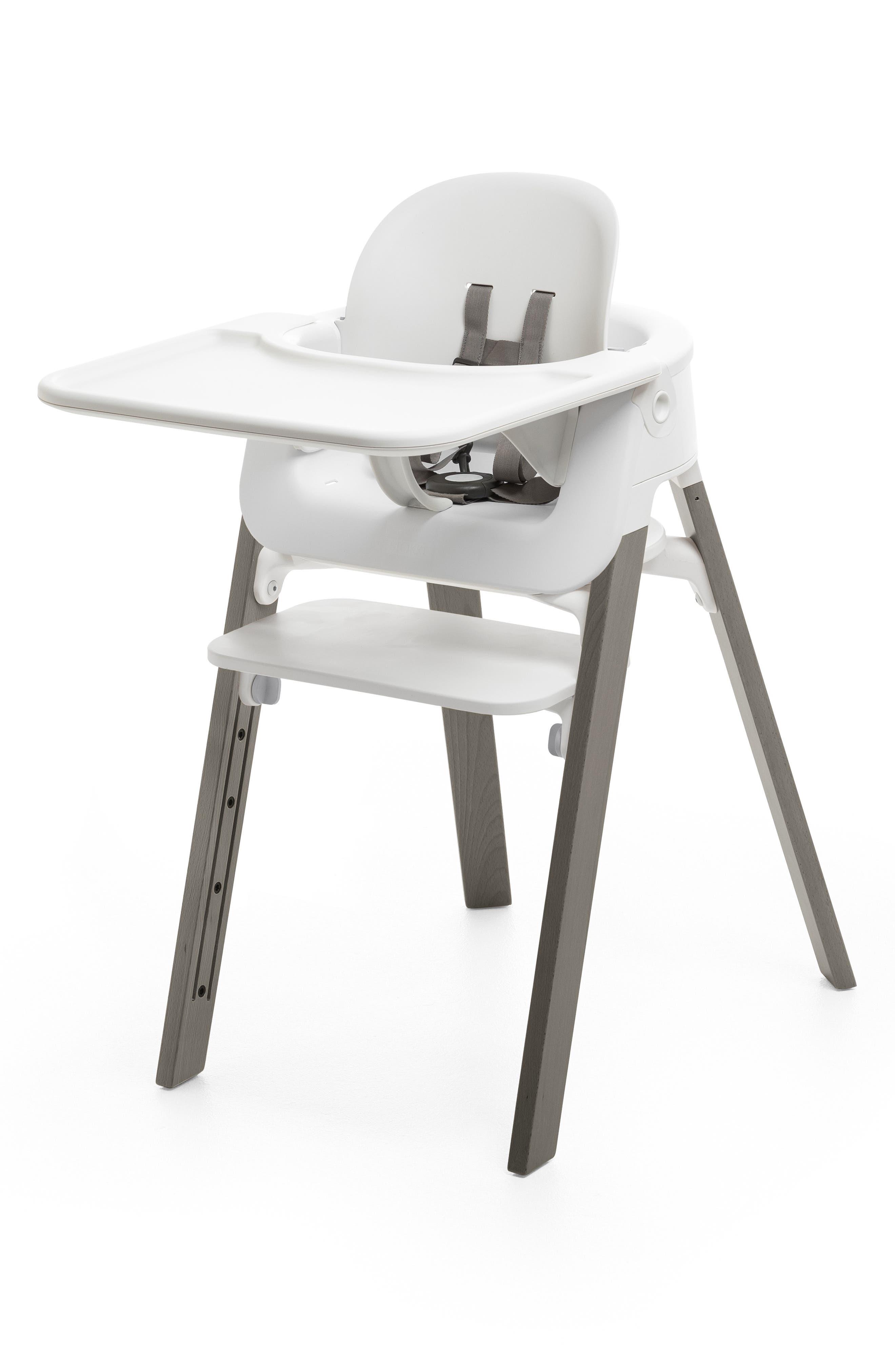 Steps<sup>™</sup> High Chair & Tray,                             Main thumbnail 1, color,                             GREY