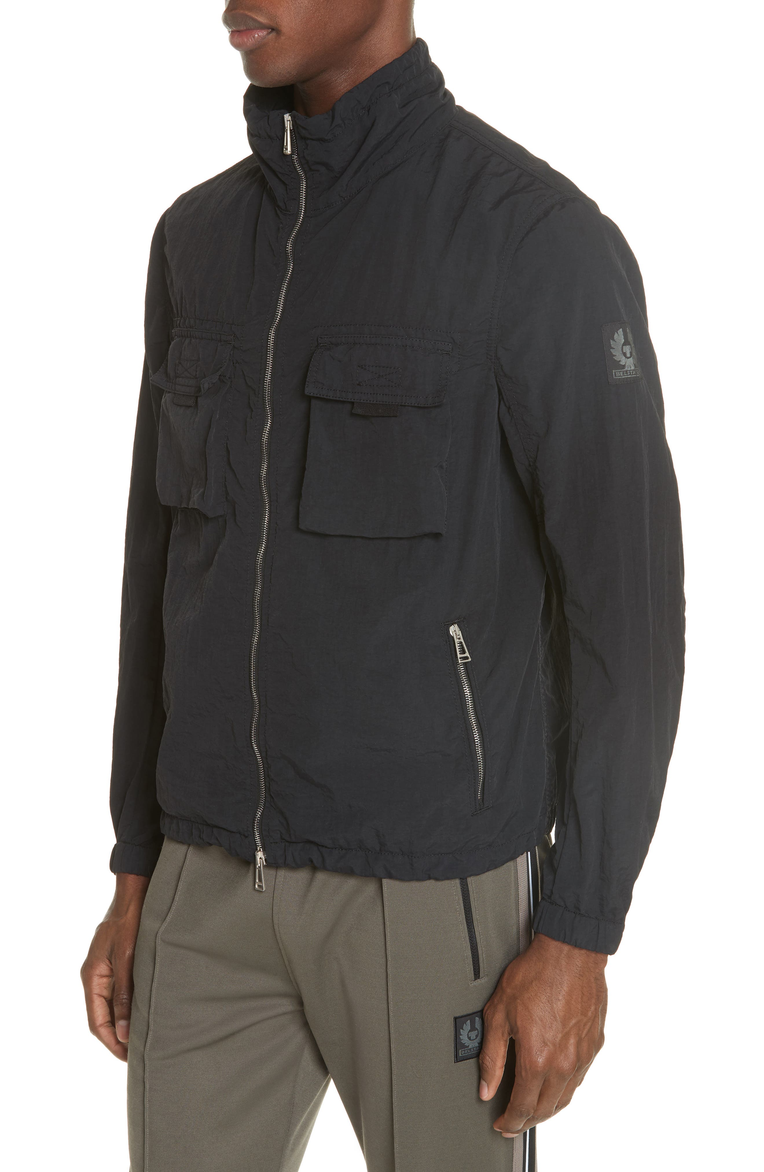BELSTAFF,                             Pendeen Jacket,                             Main thumbnail 1, color,                             001
