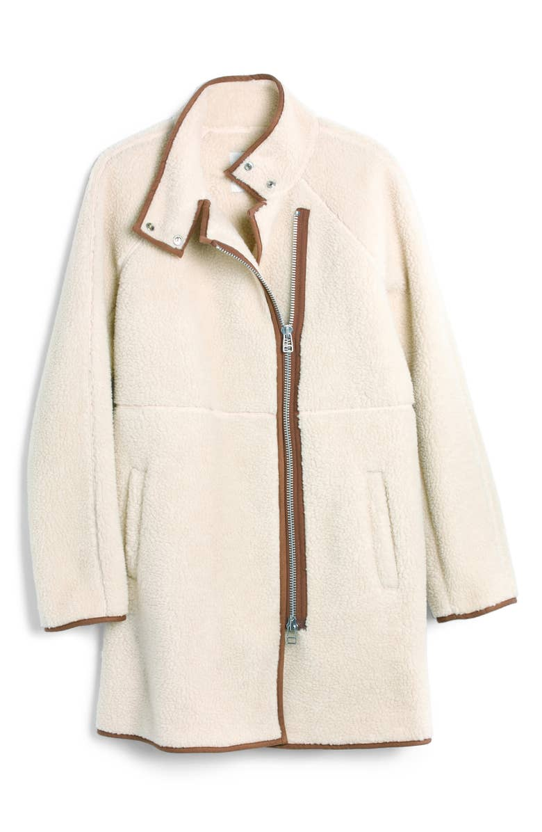 Madewell Faux Shearling Coat