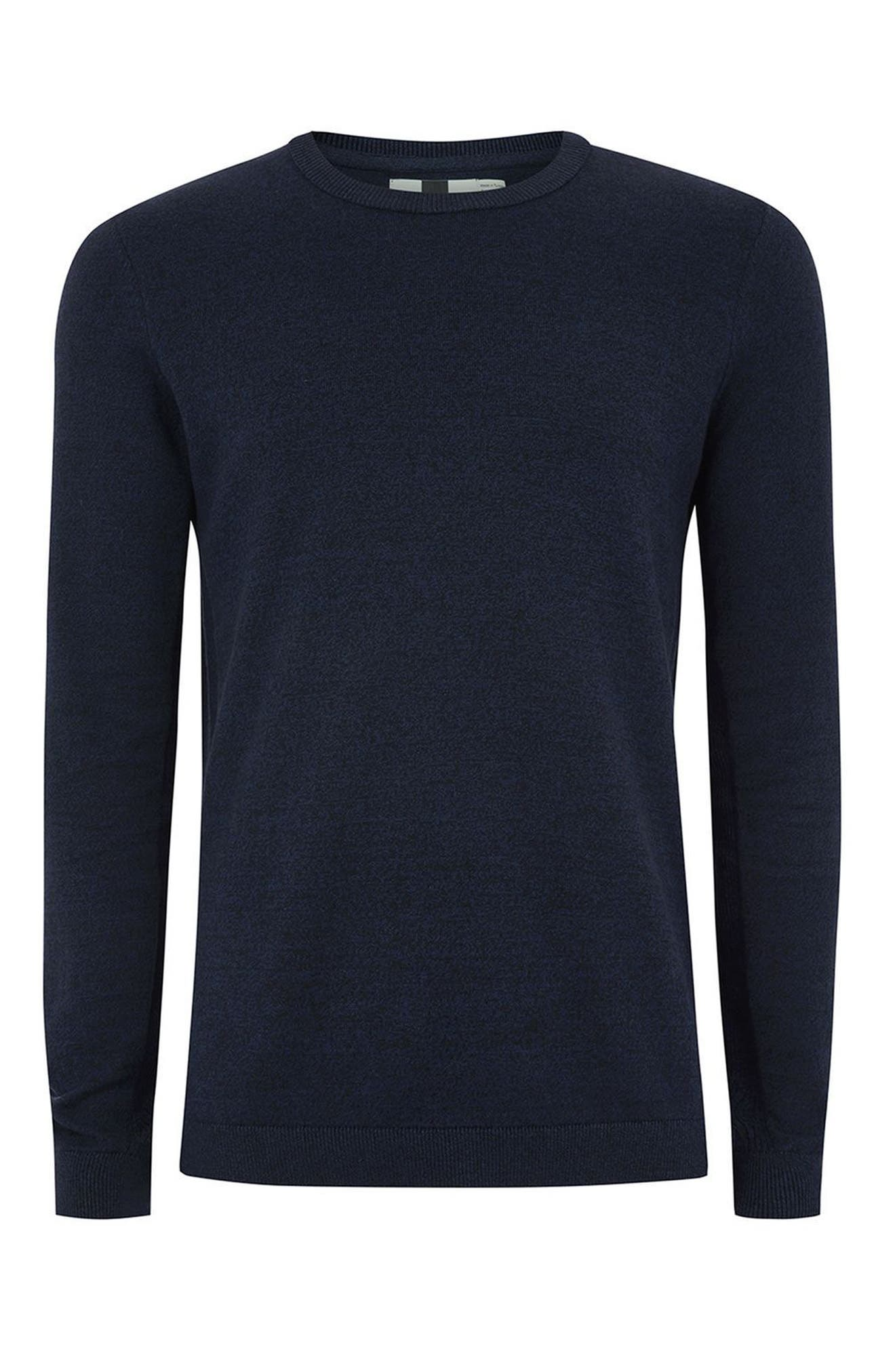 Side Ribbed Slim Fit Sweater,                             Alternate thumbnail 29, color,