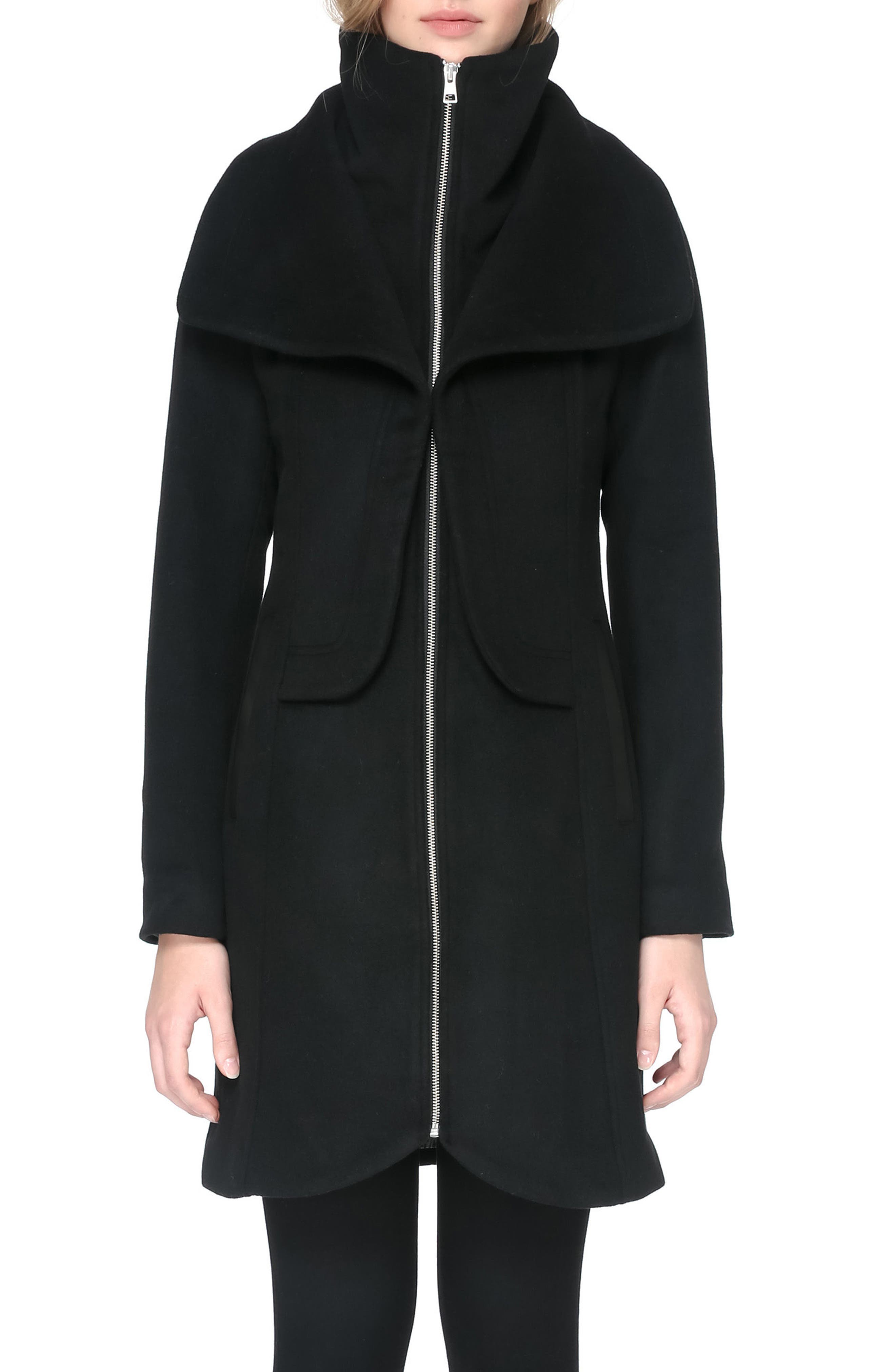 Hooded Trench,                             Alternate thumbnail 4, color,                             001
