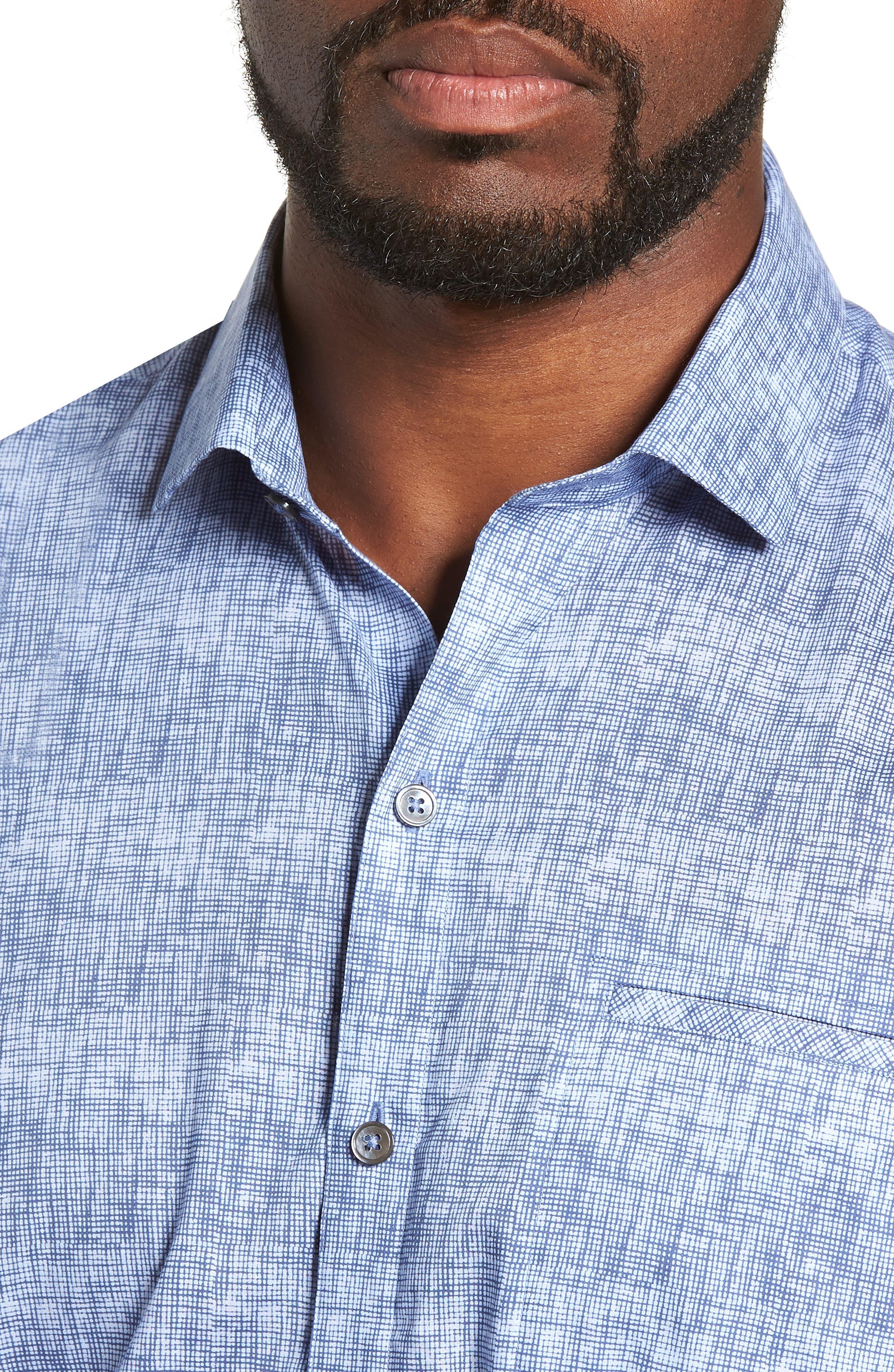 Oppong Sport Shirt,                             Alternate thumbnail 2, color,                             BLUE