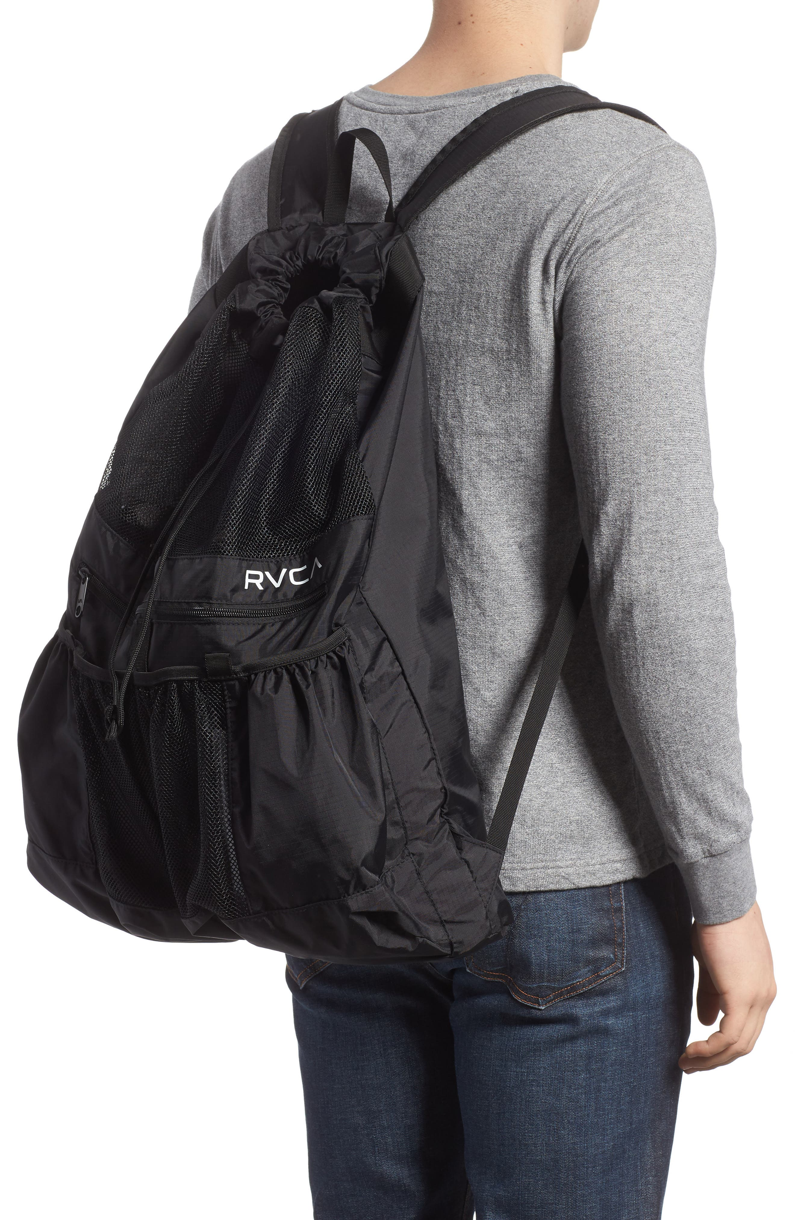 Ripstop Mesh Backpack,                             Alternate thumbnail 2, color,                             001