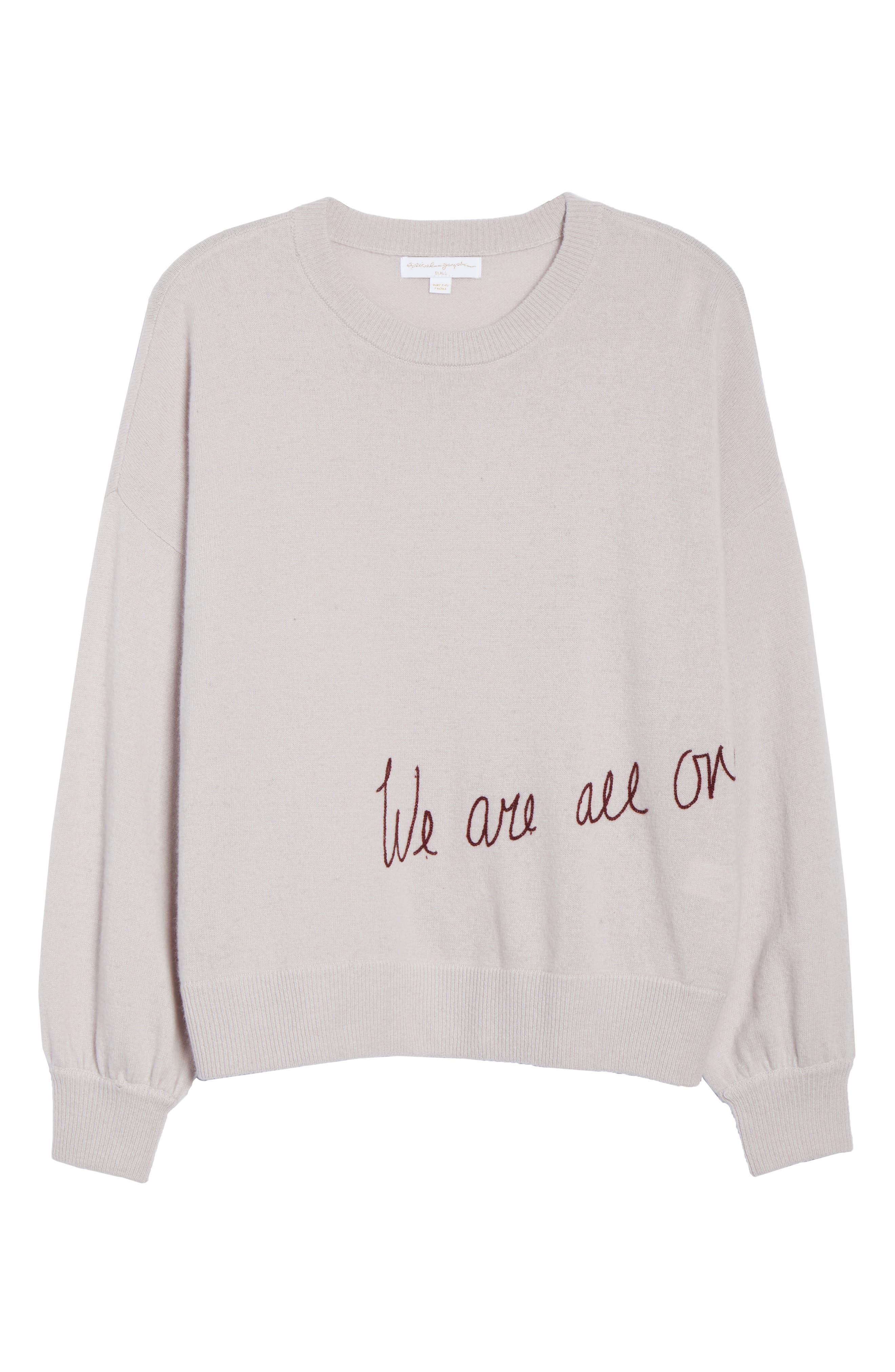 We Are All One Sweater,                             Alternate thumbnail 7, color,                             650