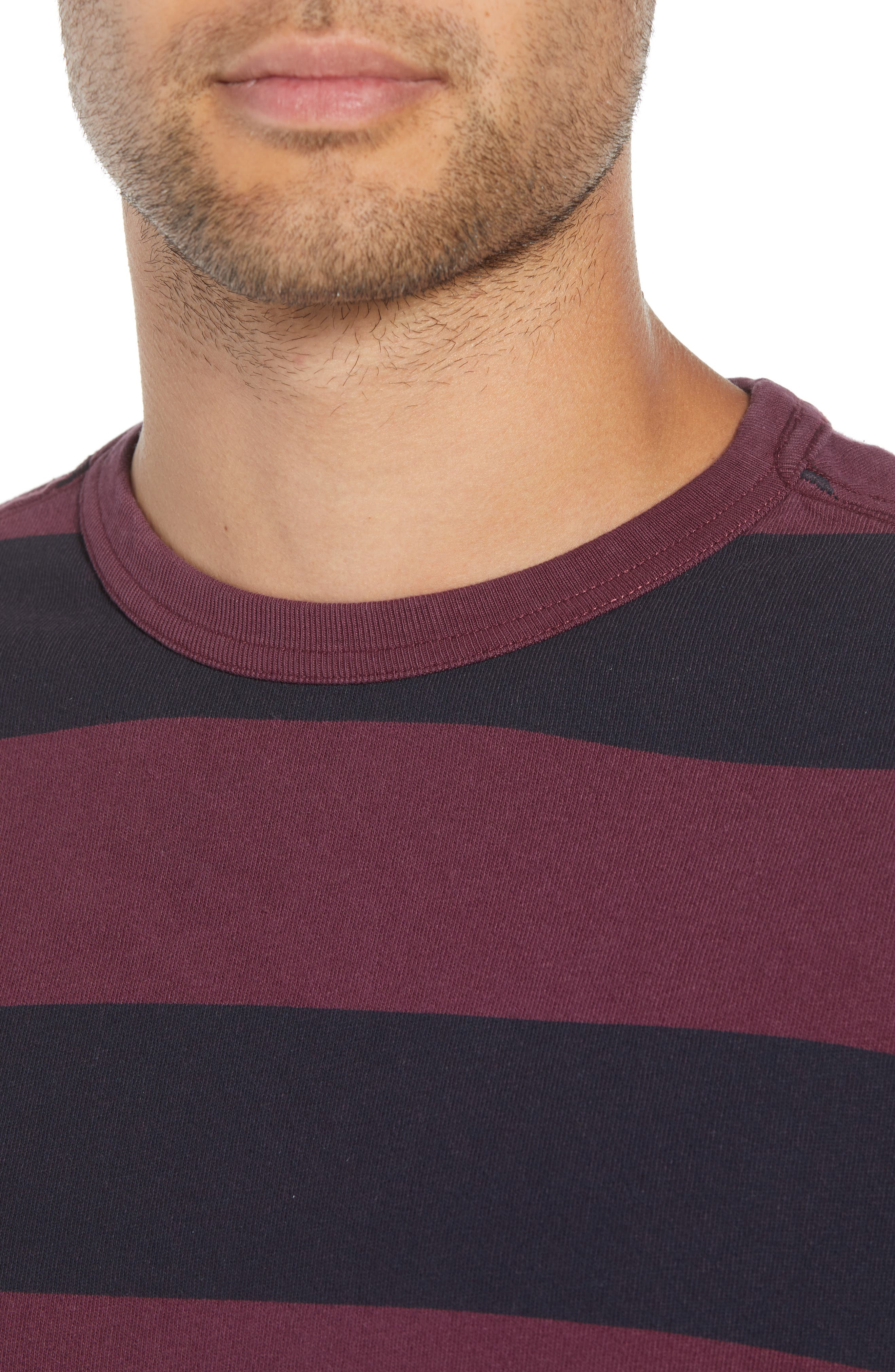 Stripe T-Shirt,                             Alternate thumbnail 4, color,                             500
