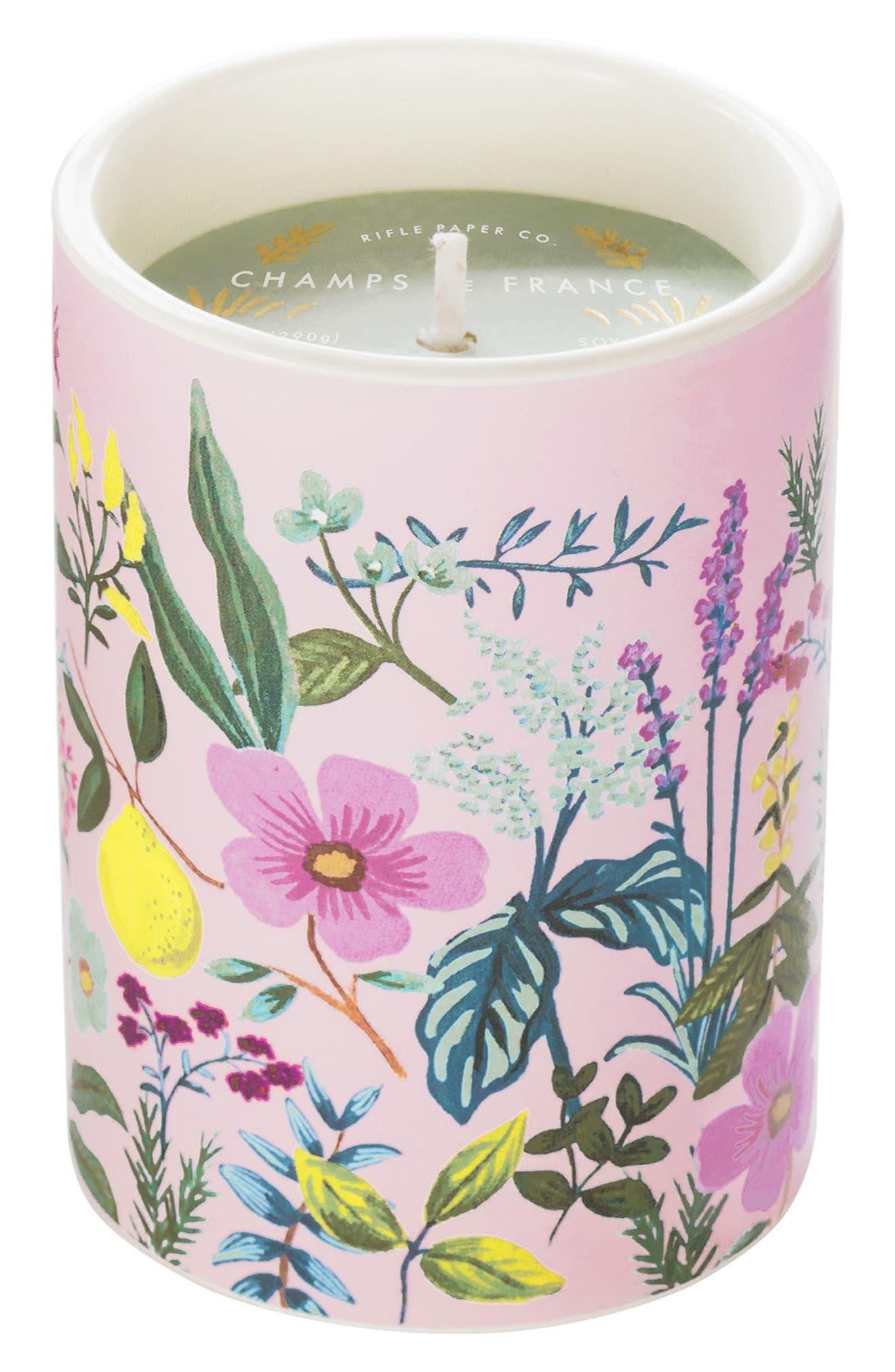 Scented Ceramic Jar Candle,                             Main thumbnail 3, color,