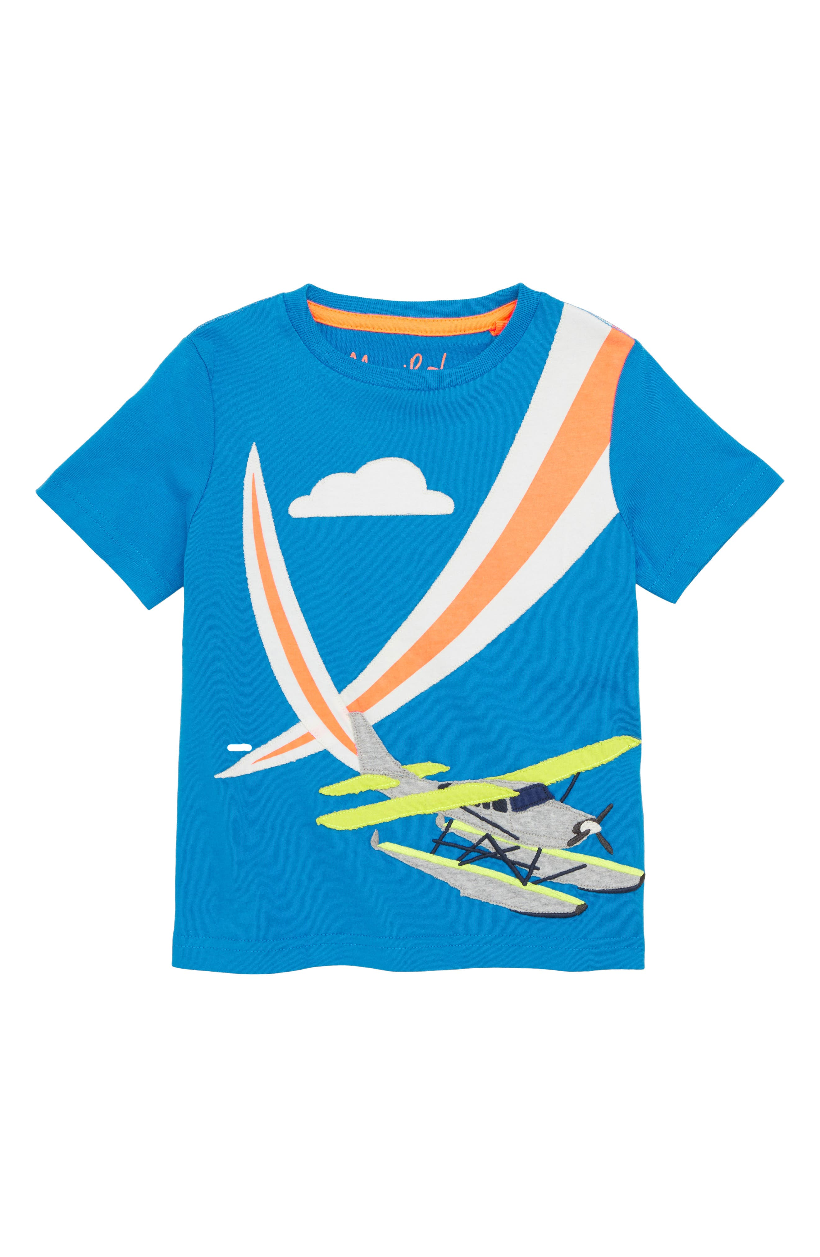 Action Appliqué T-Shirt,                         Main,                         color, 424