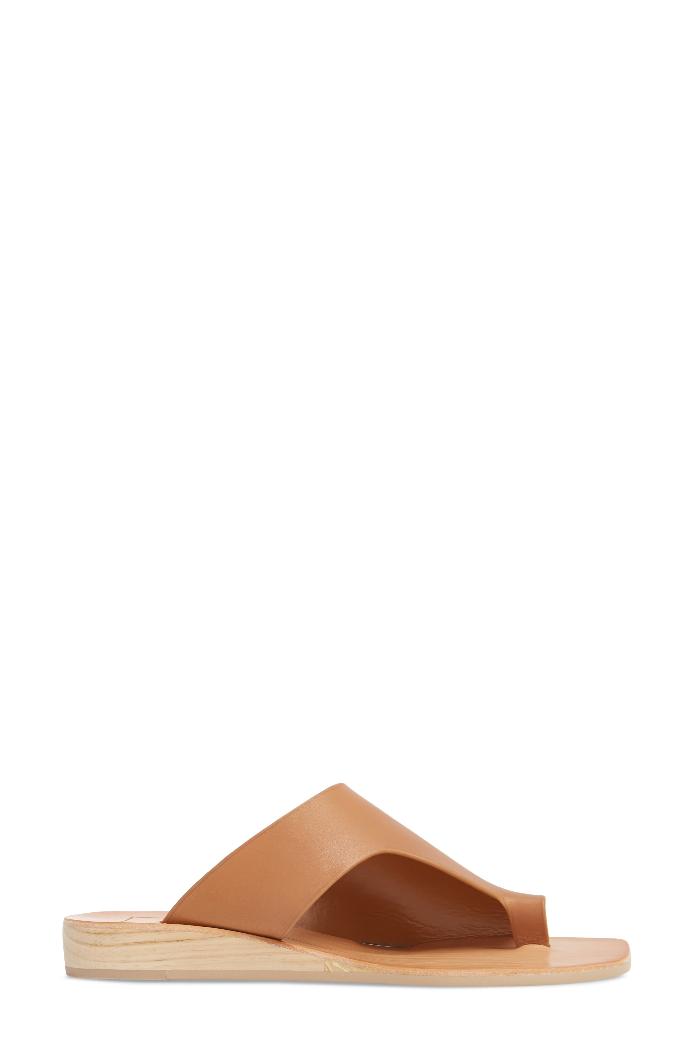 Hazle Asymmetrical Toe Loop Sandal,                             Alternate thumbnail 8, color,