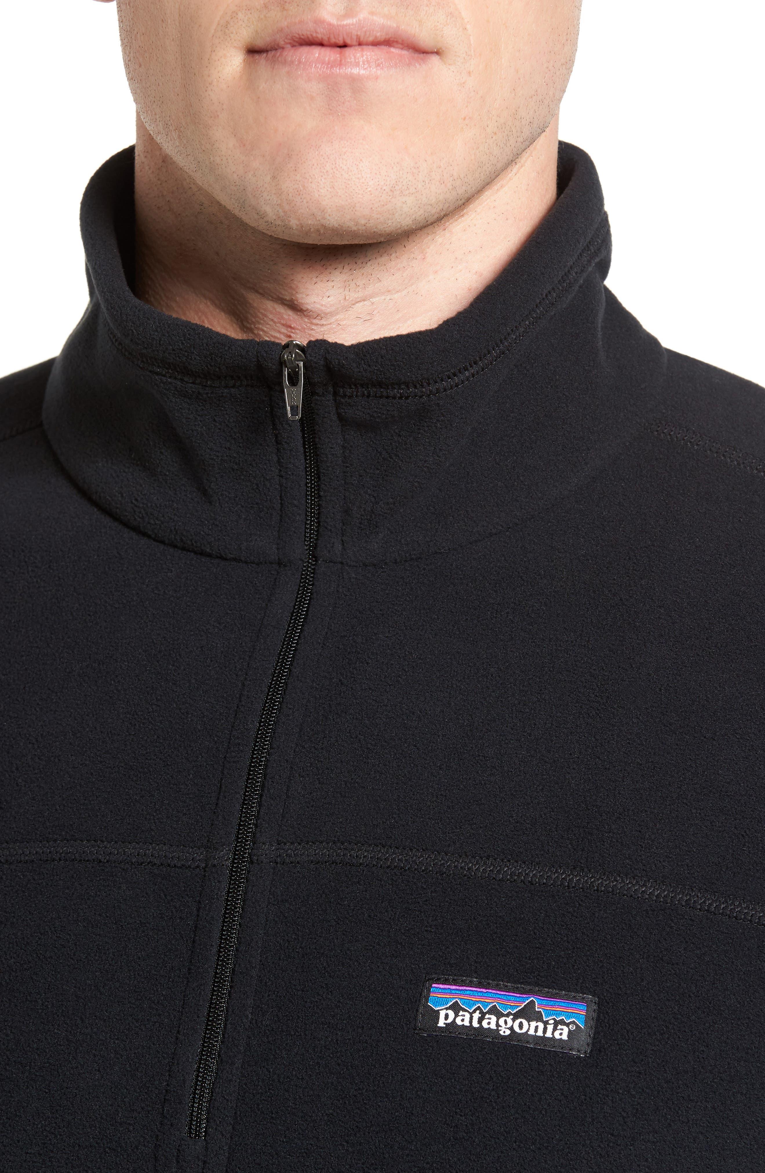 Fleece Pullover,                             Alternate thumbnail 4, color,                             BLACK