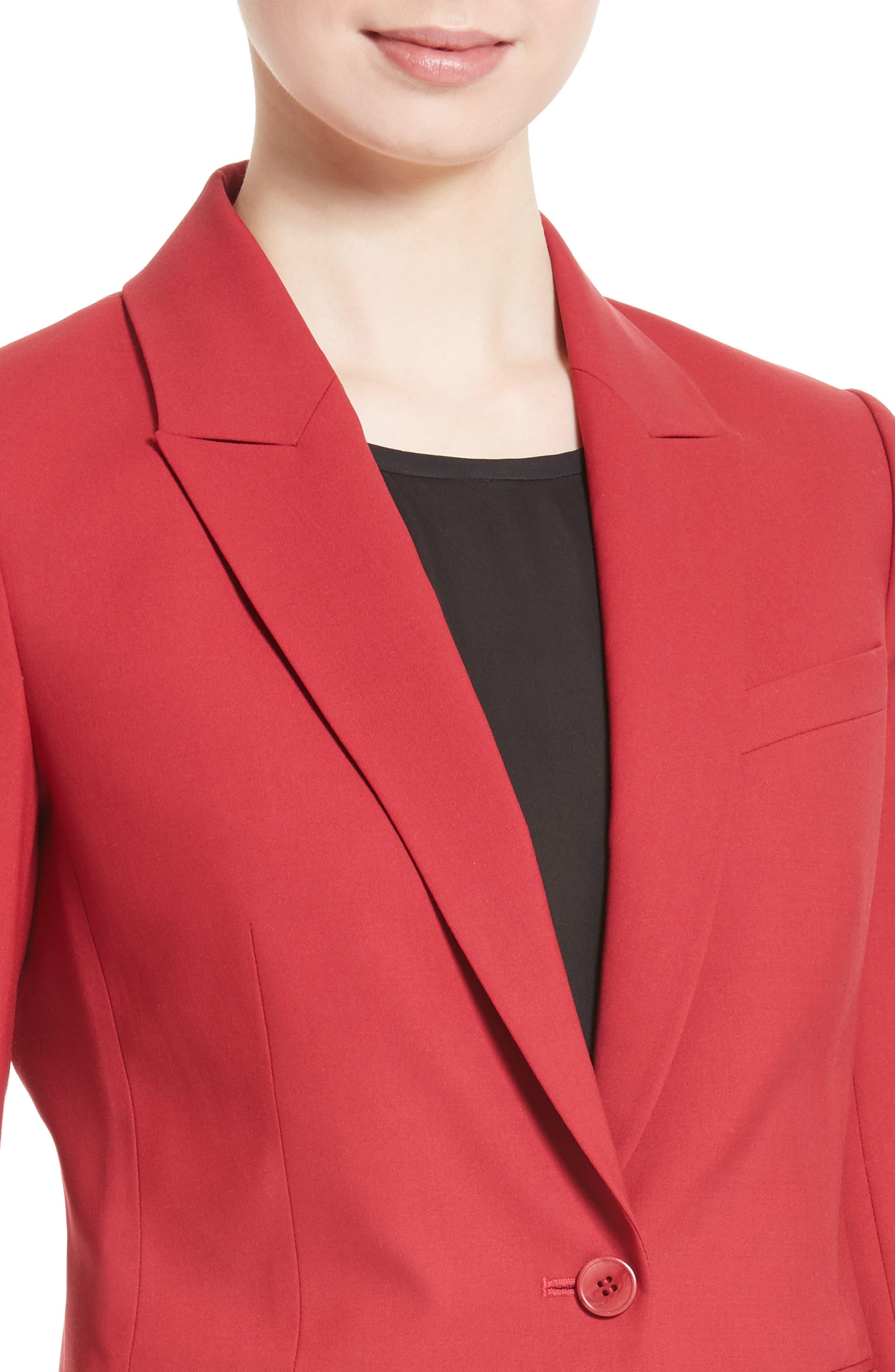 Etienette B Good Wool Suit Jacket,                             Alternate thumbnail 32, color,