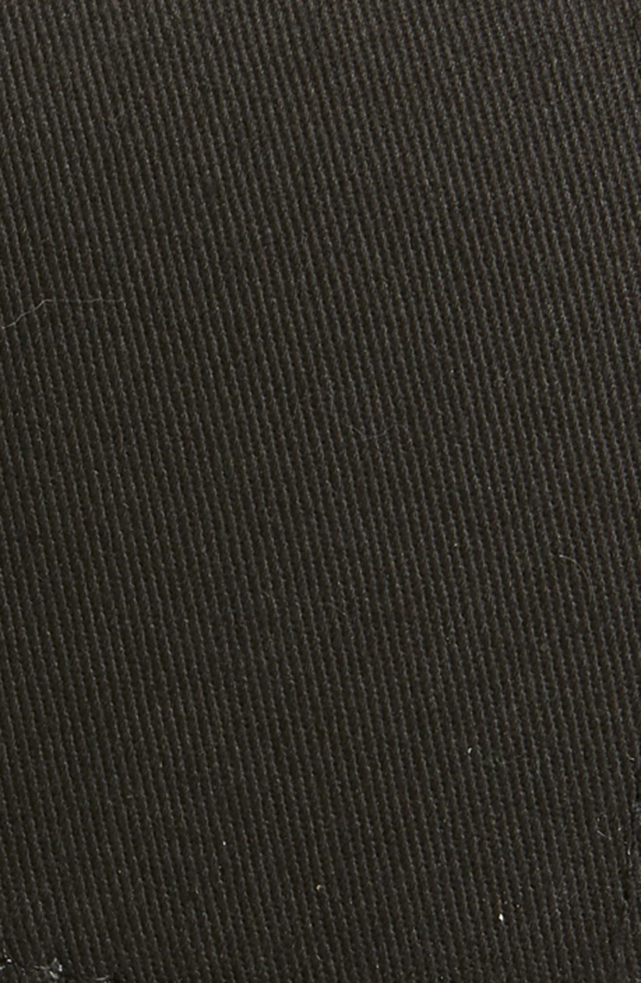 Trefoil Patch Baseball Cap,                             Alternate thumbnail 3, color,                             001
