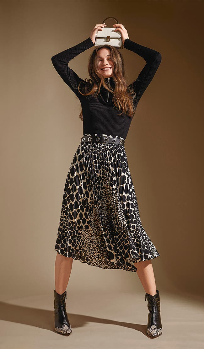 Mad for midi skirts.