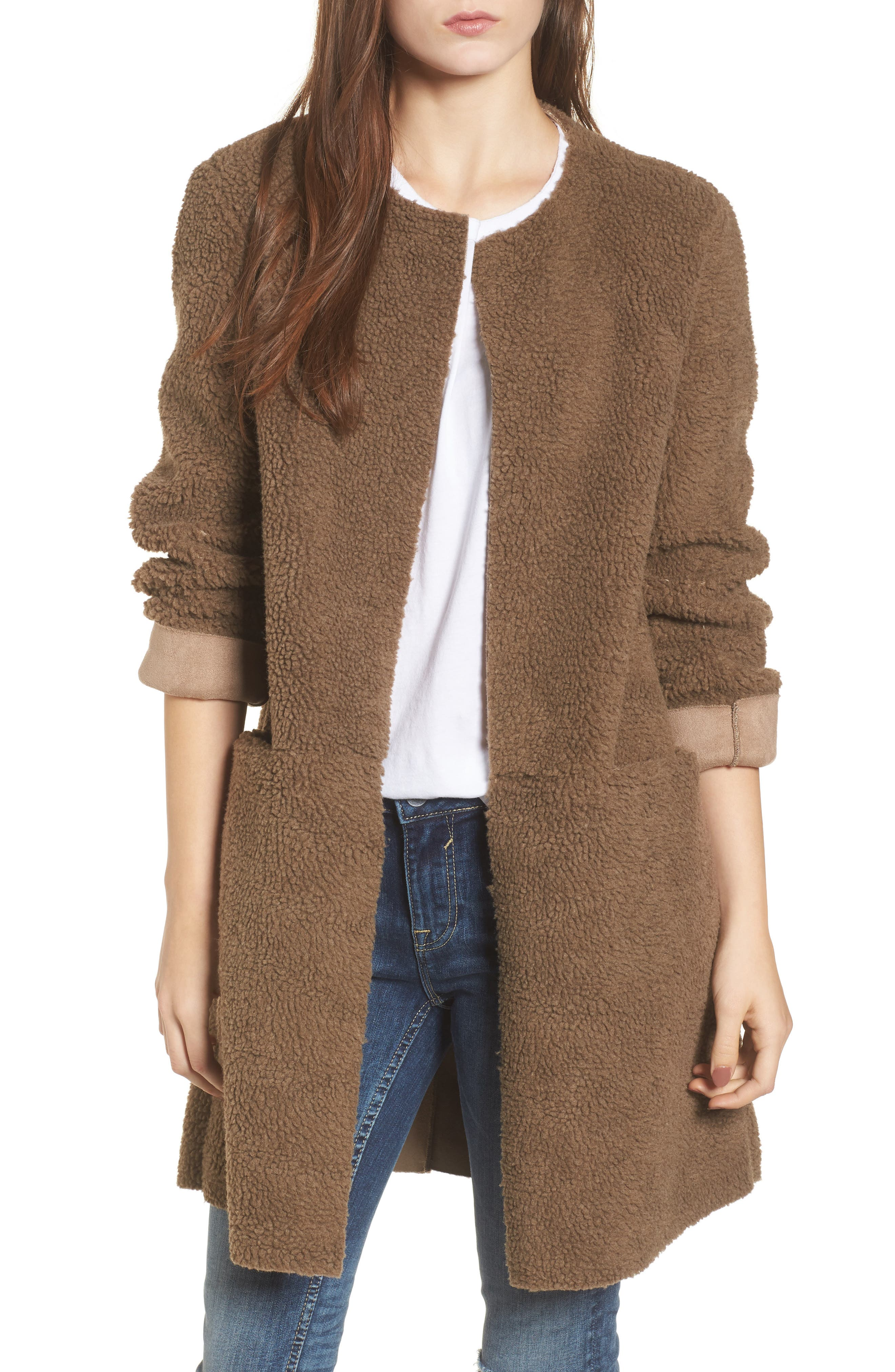 Reversible Fleece Jacket,                         Main,                         color, 239