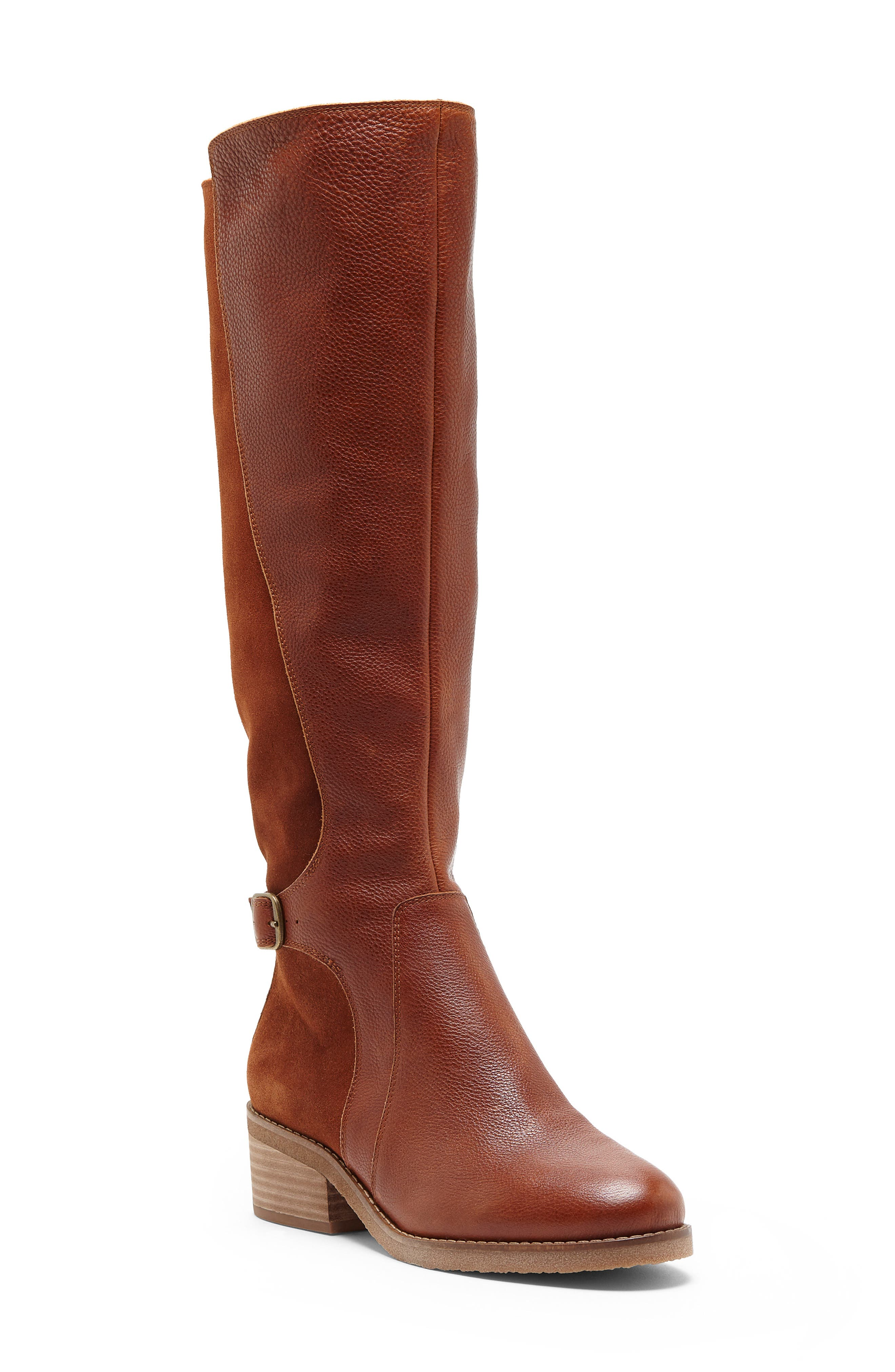 Lucky Brand Timinii Tall Boot- Brown