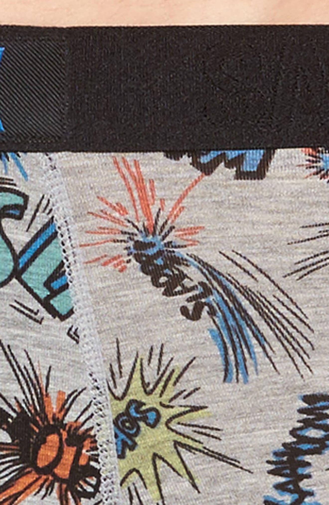 Vibe Stretch Boxer Briefs,                             Alternate thumbnail 4, color,