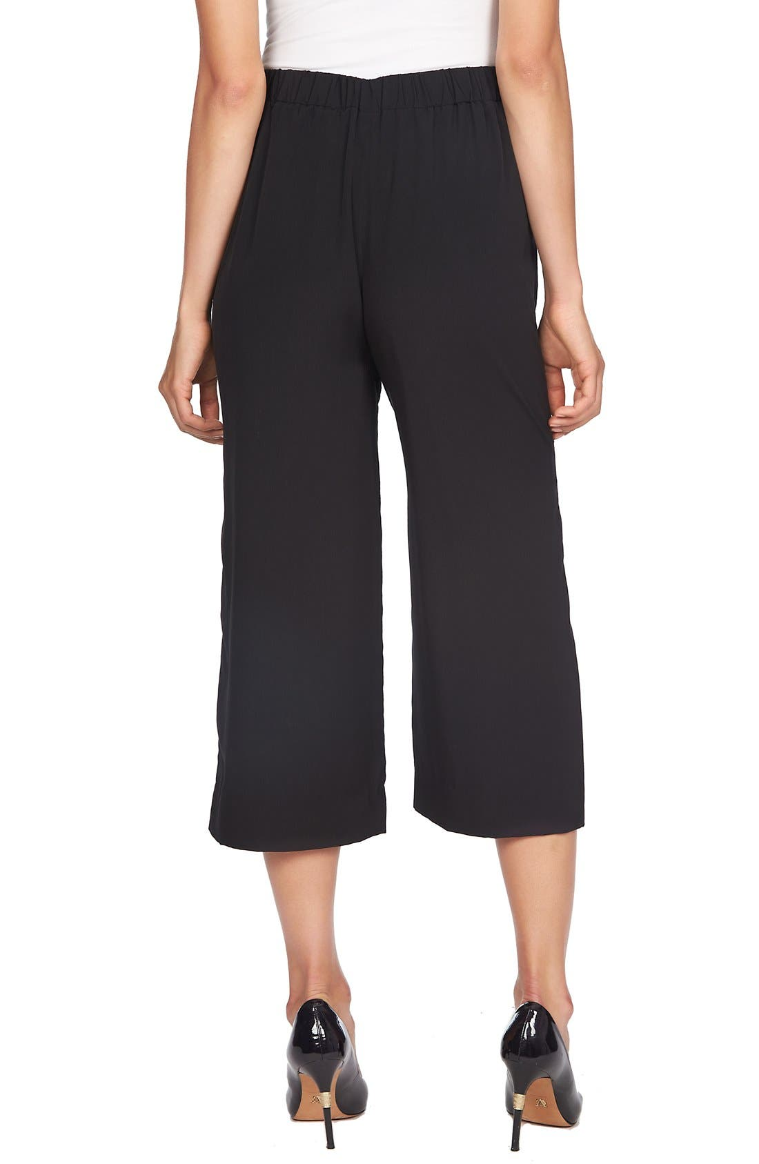 Pleated Culottes,                             Alternate thumbnail 2, color,                             001