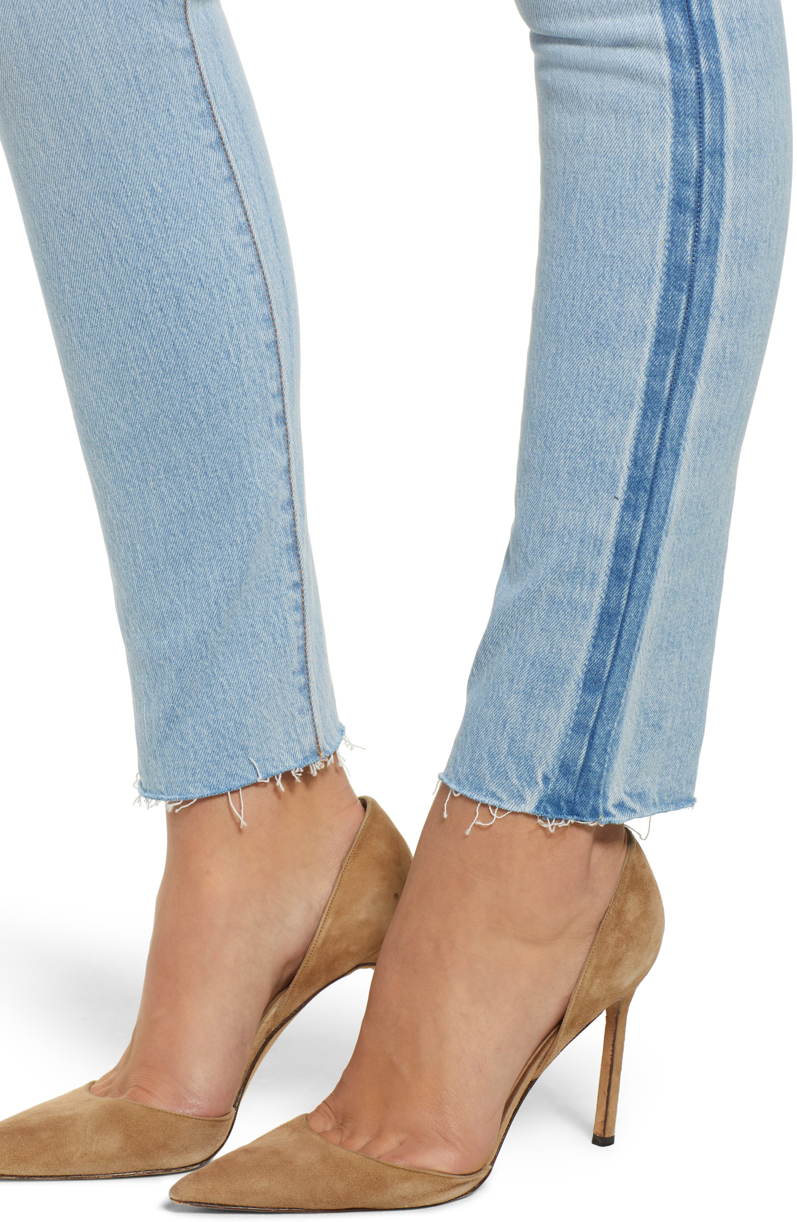 501<sup>®</sup> High Waist Skinny Jeans,                             Alternate thumbnail 4, color,                             SMARTY