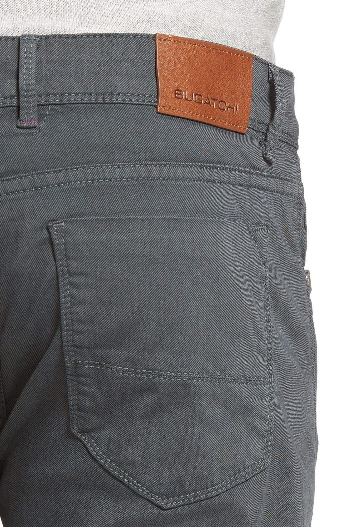 Slim Fit Five-Pocket Pants,                             Alternate thumbnail 4, color,                             017