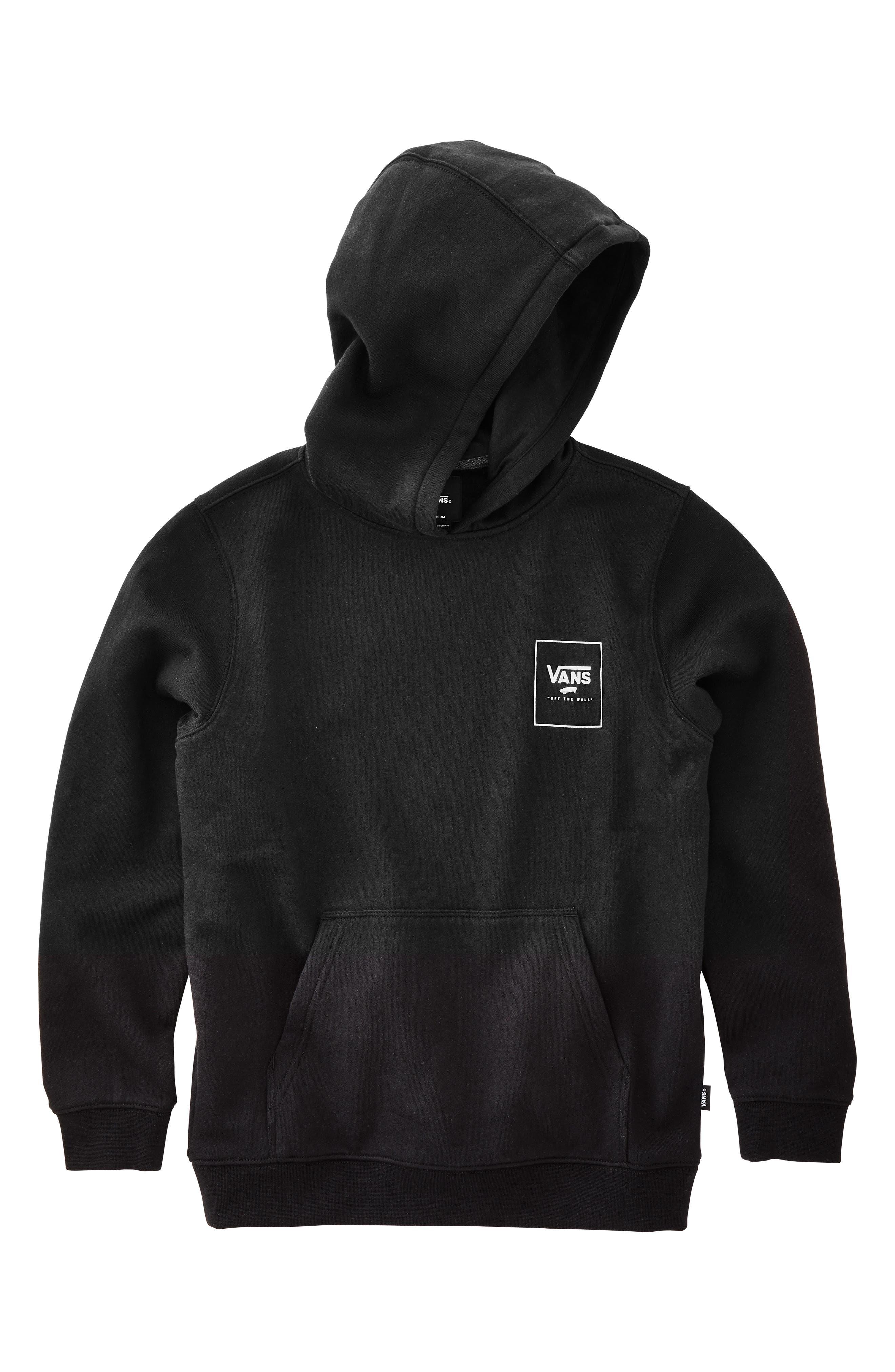 Print Box Hoodie,                         Main,                         color, BLACK/ CAMO