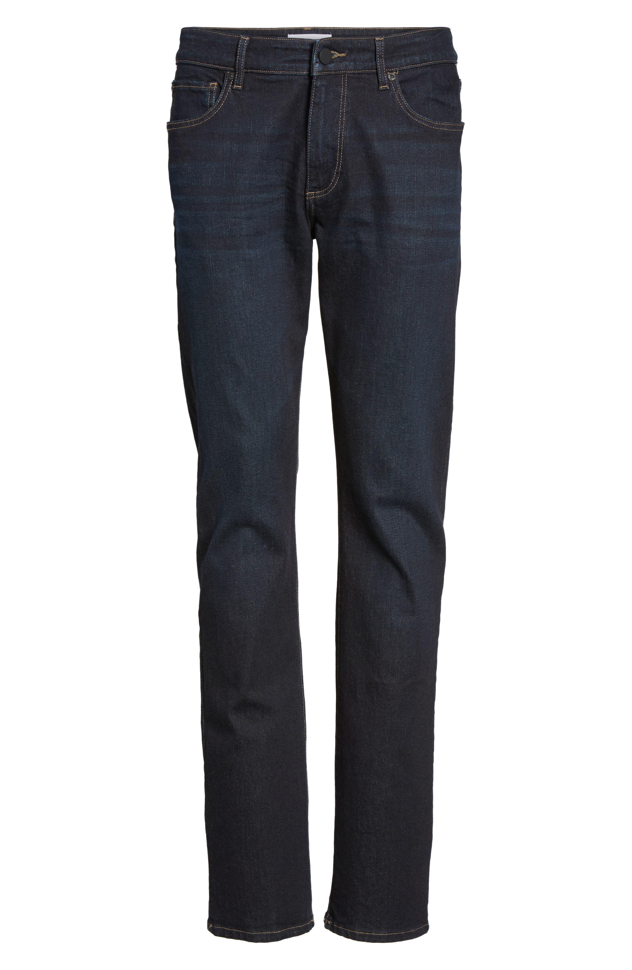 Russell Slim Straight Leg Jeans,                             Alternate thumbnail 6, color,                             425