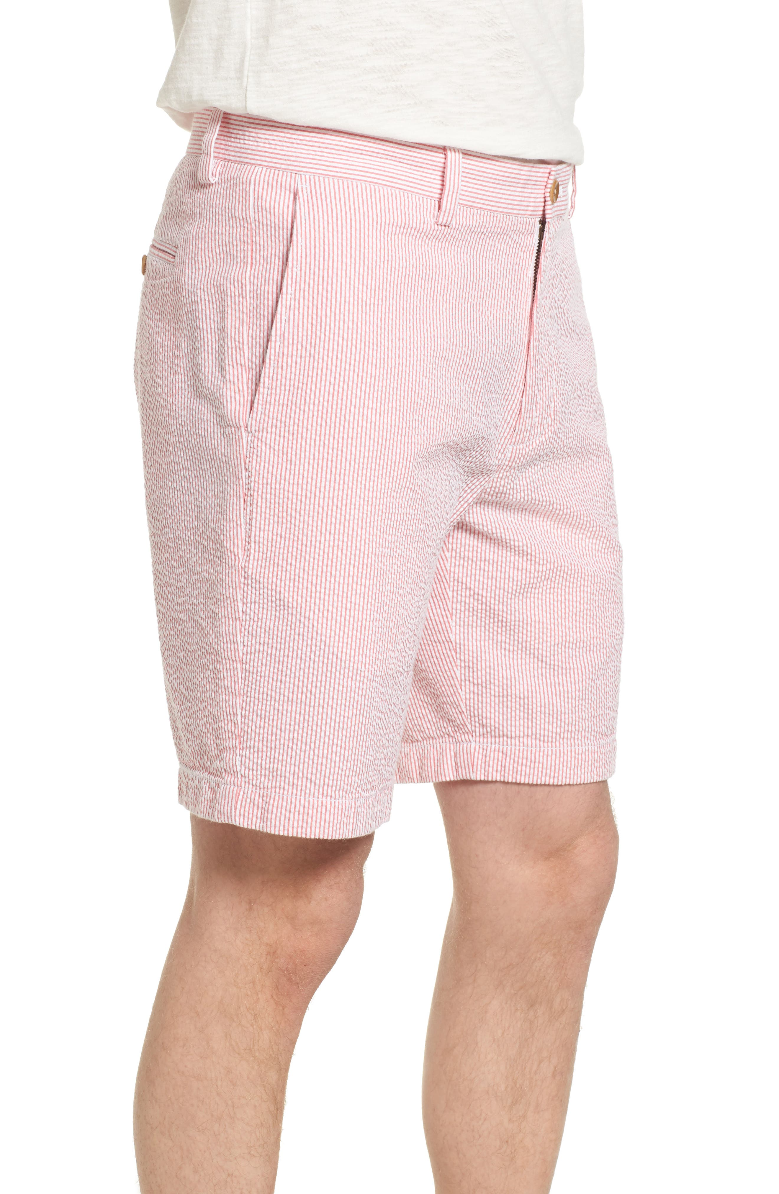 9 Inch Seersucker Shorts,                             Alternate thumbnail 6, color,