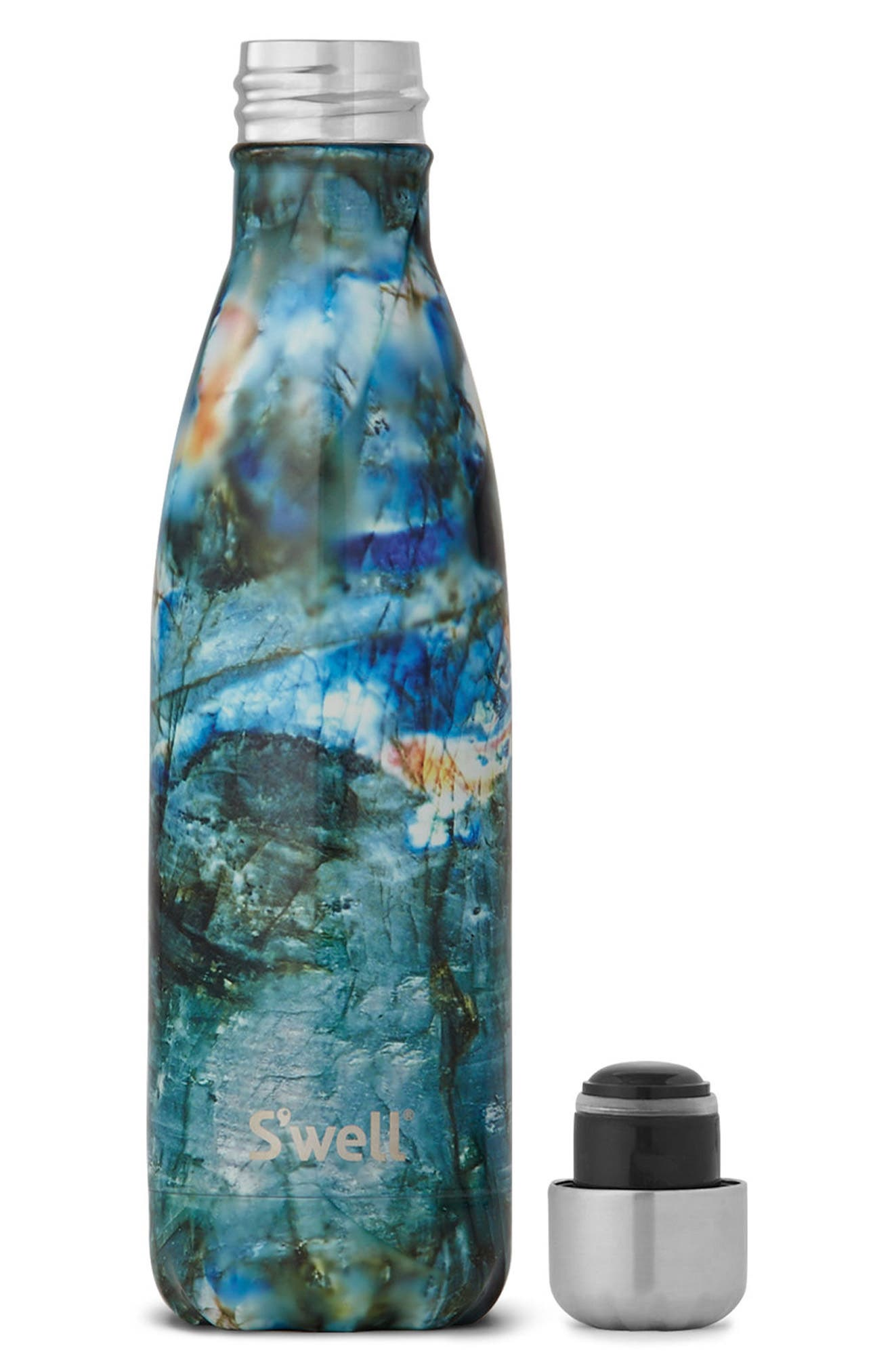 Labradorite Insulated Stainless Steel Water Bottle,                             Alternate thumbnail 2, color,                             001