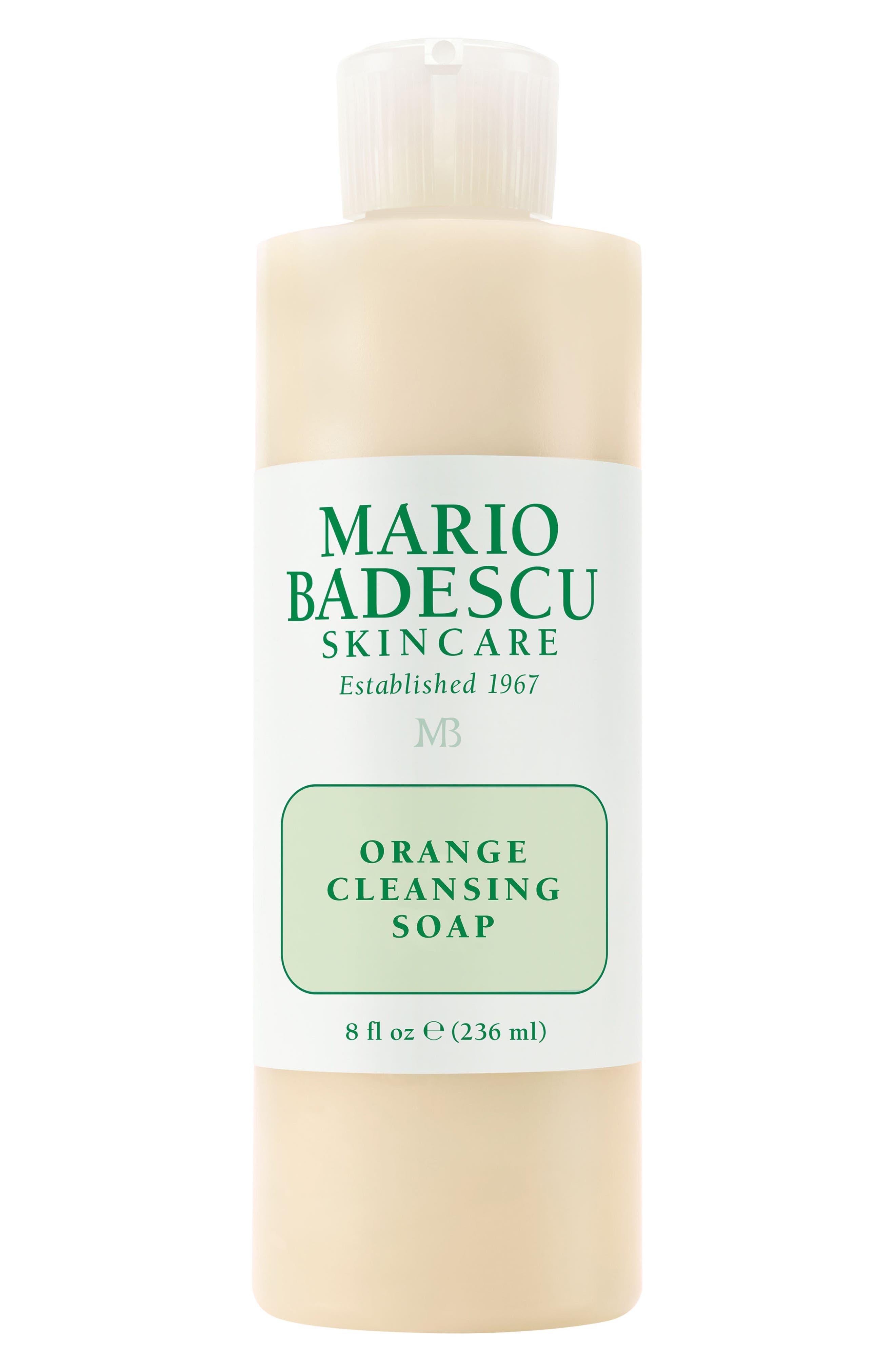 Orange Cleansing Soap,                             Main thumbnail 1, color,                             000