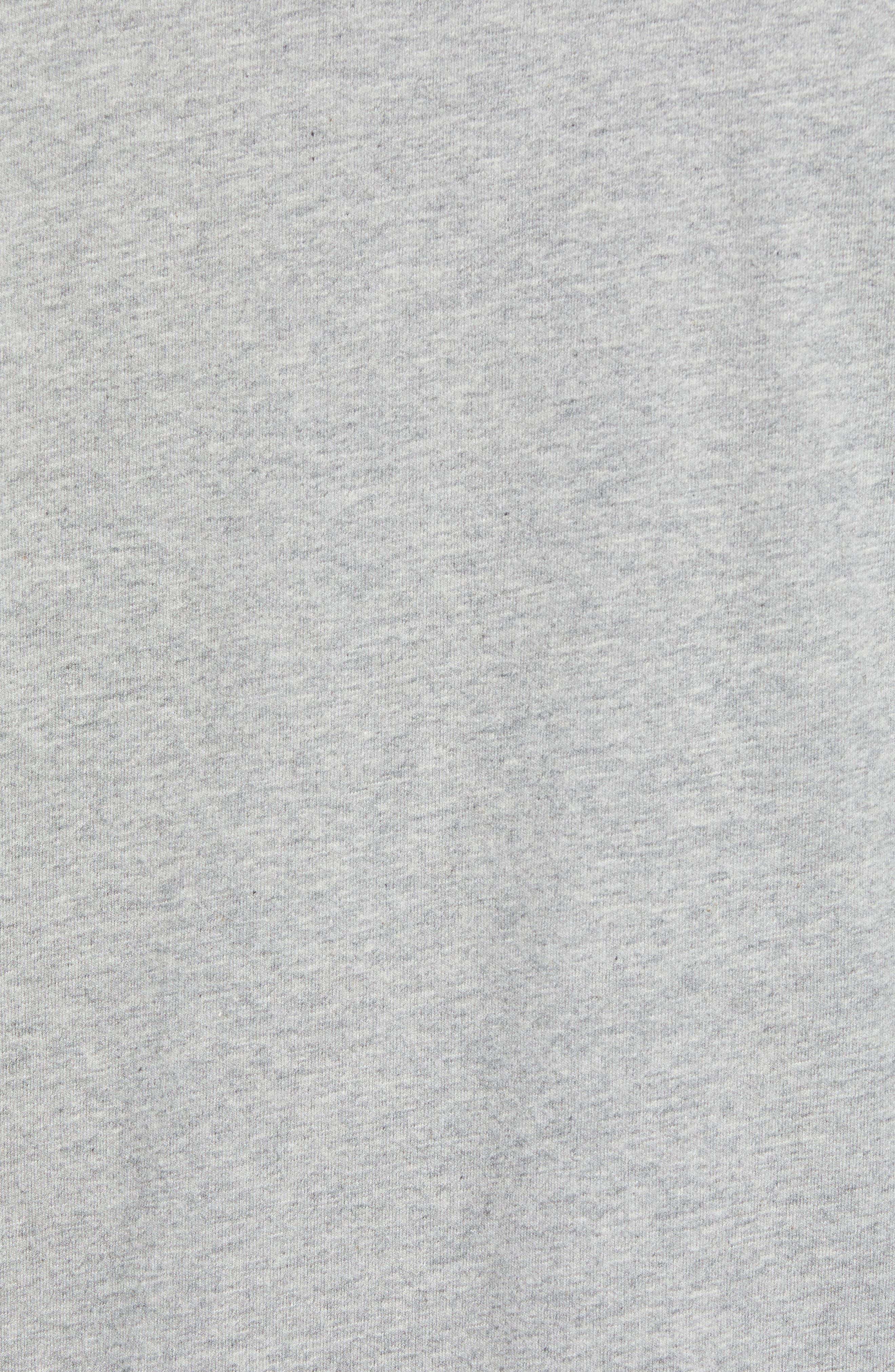Is Mai Tai on Straight? T-Shirt,                             Alternate thumbnail 5, color,                             GREY HEATHER