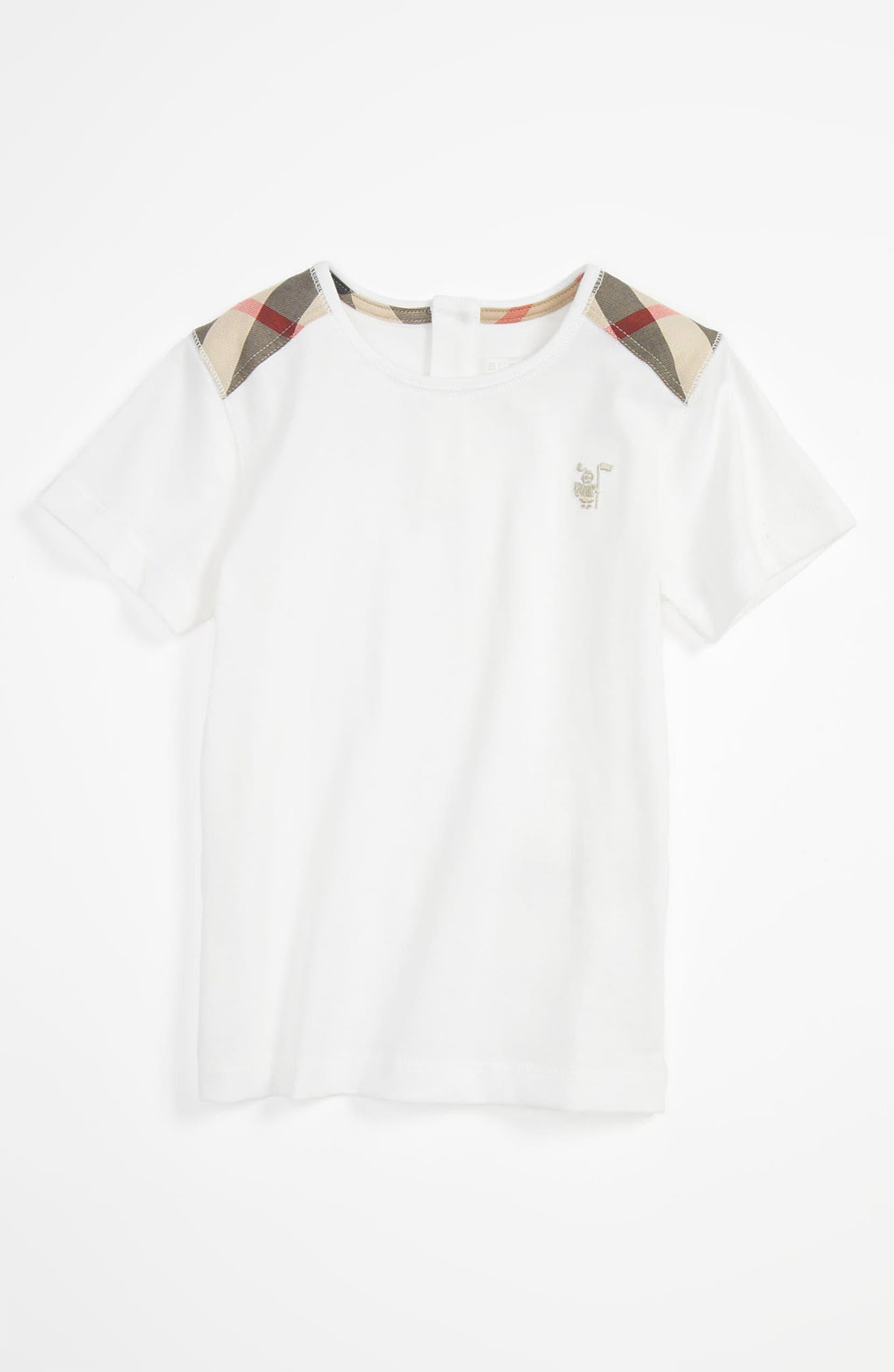 6e1937caa478 Burberry  Mini Lencel  T-Shirt (Infant)   Nordstrom