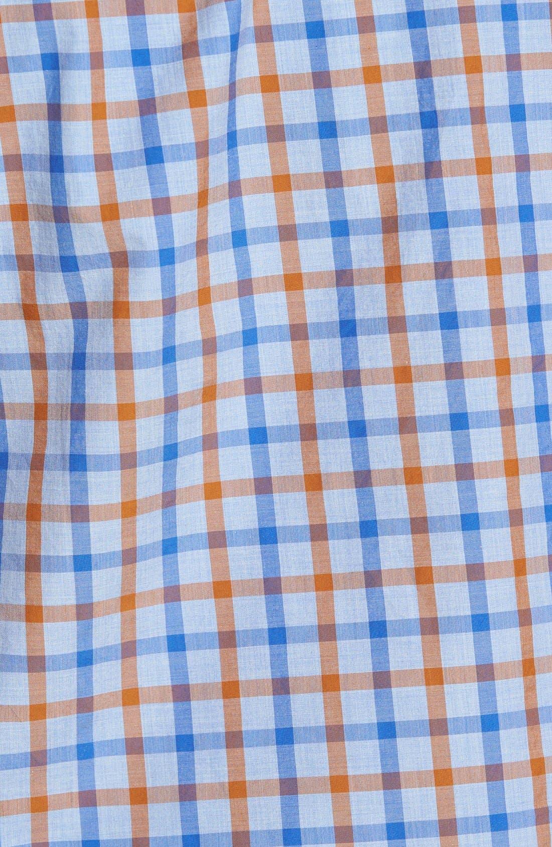 'Codfish Island' Sports Fit Check Sport Shirt,                             Alternate thumbnail 5, color,                             200