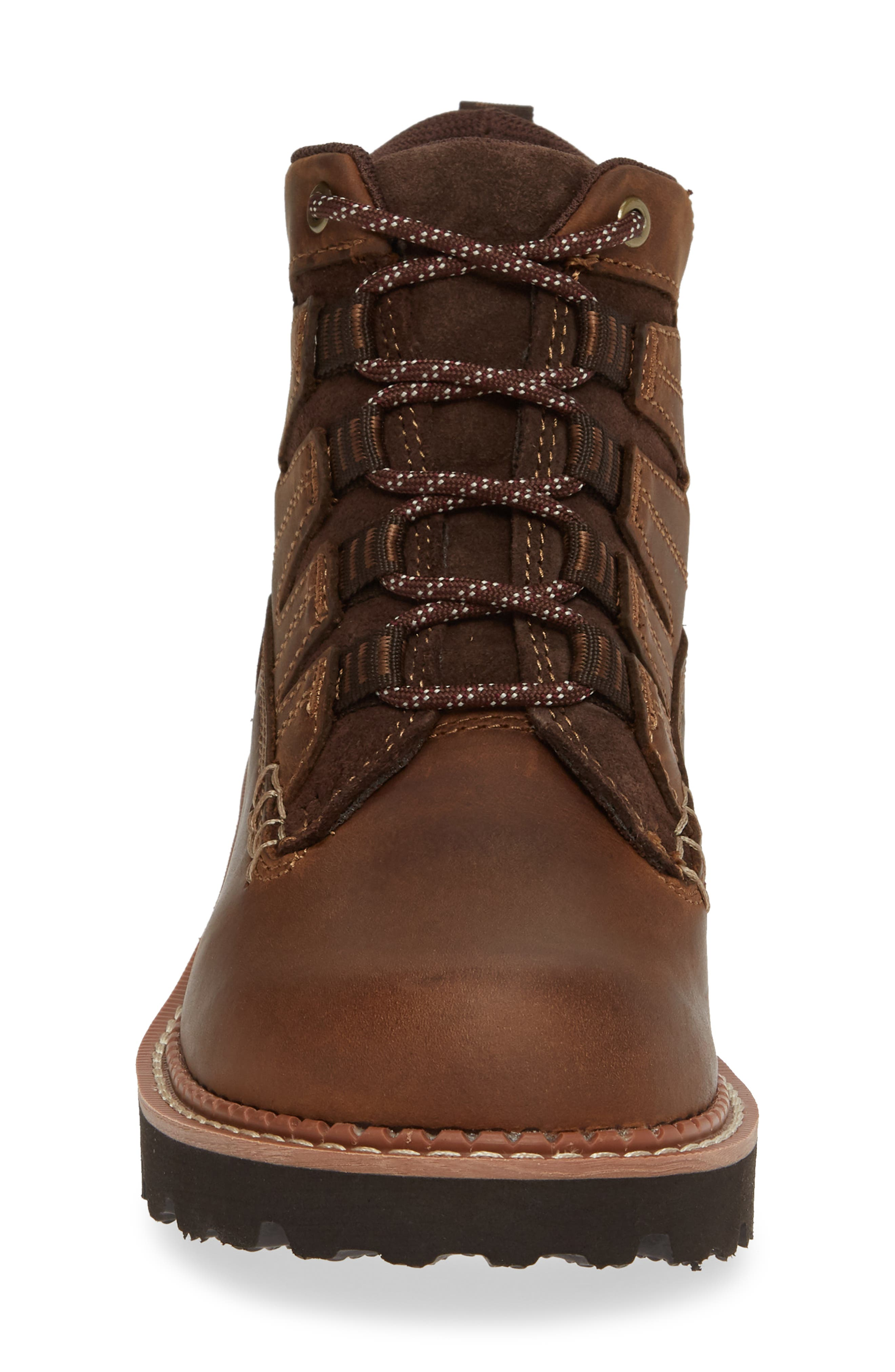Canyon II Bootie,                             Alternate thumbnail 4, color,                             DISTRESSED BROWN LEATHER