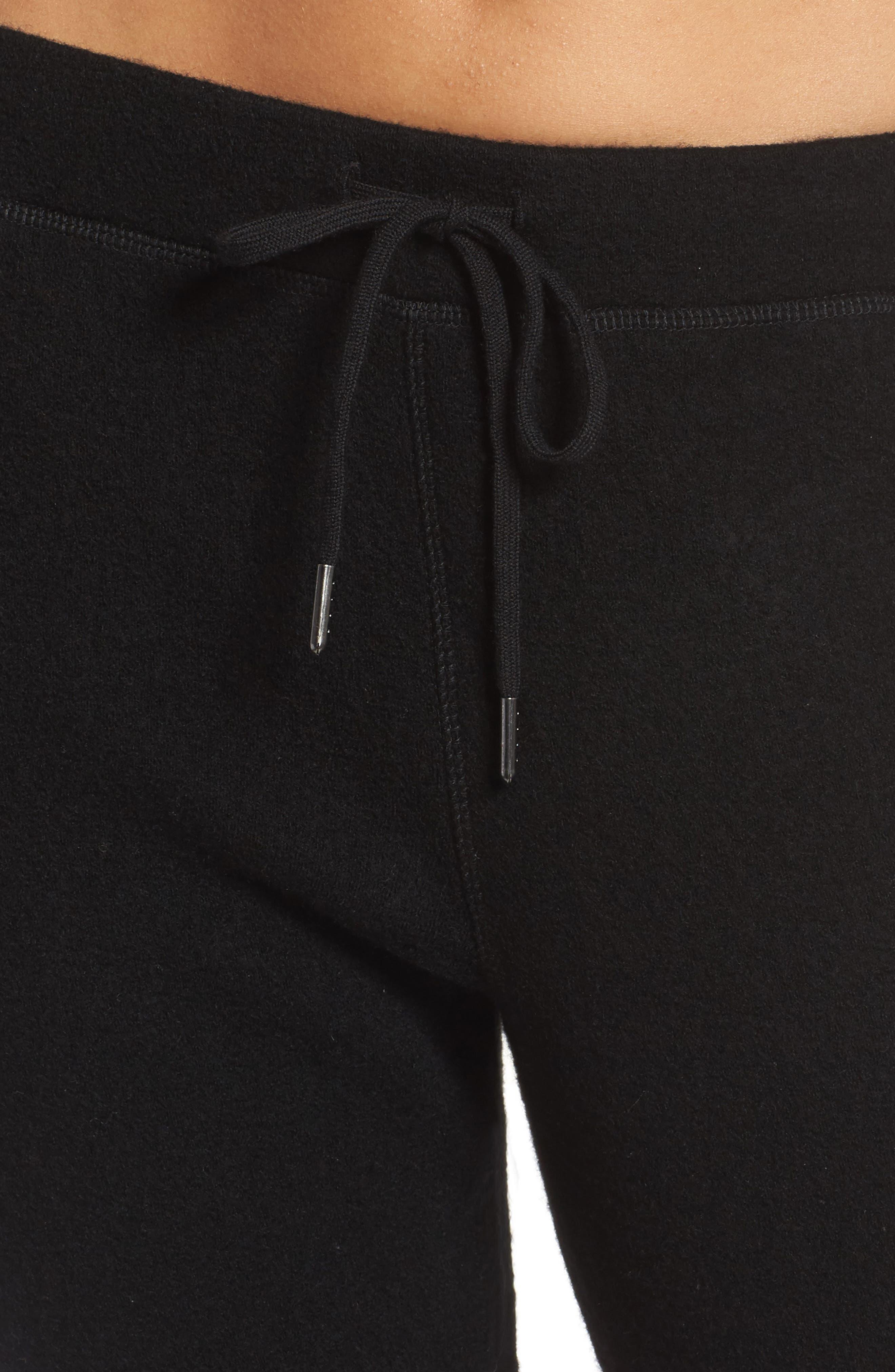 UGG<SUP>®</SUP>,                             Merino Wool Jogger Pants,                             Alternate thumbnail 4, color,                             001