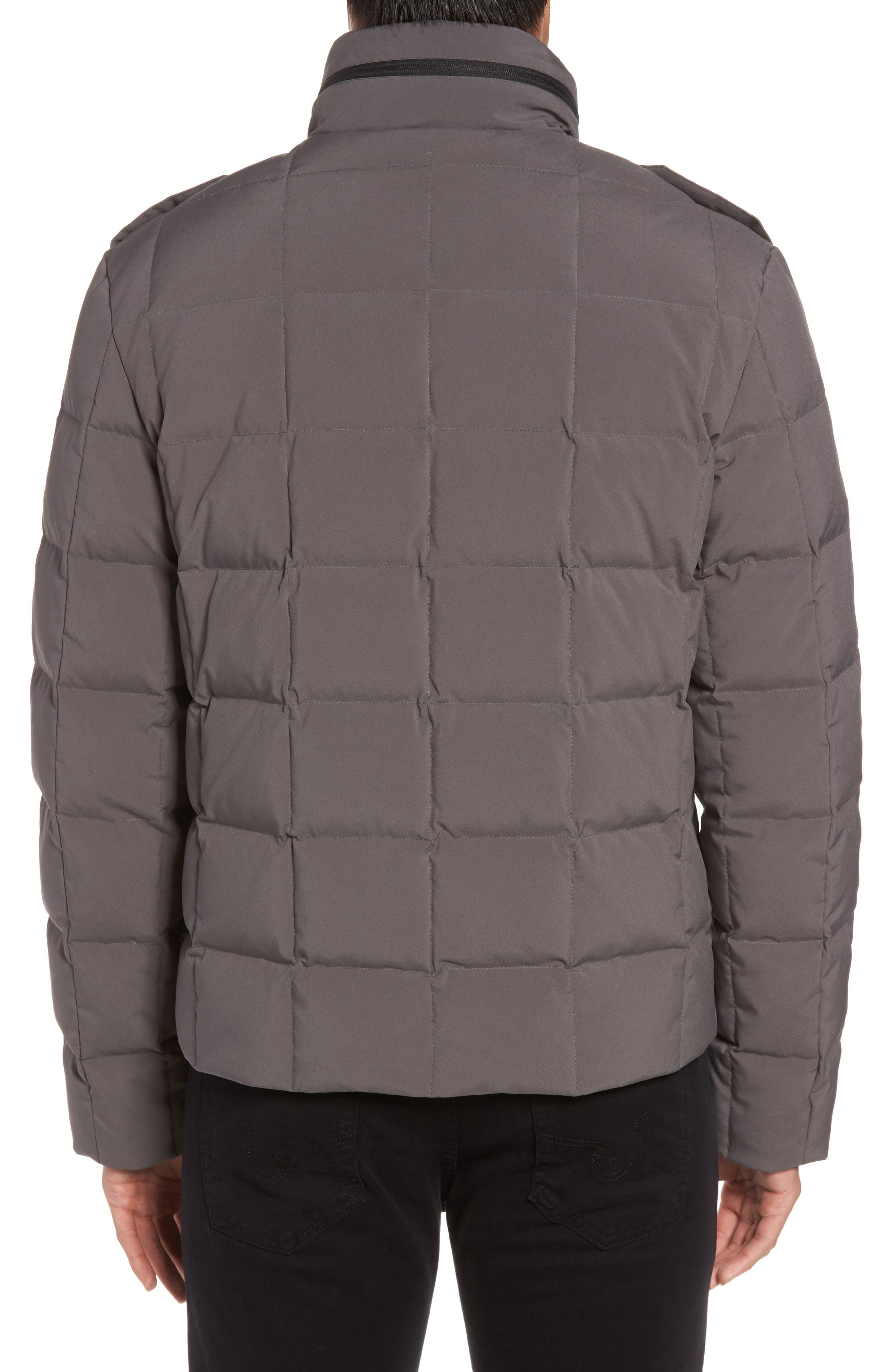 Box Quilted Jacket,                             Alternate thumbnail 4, color,