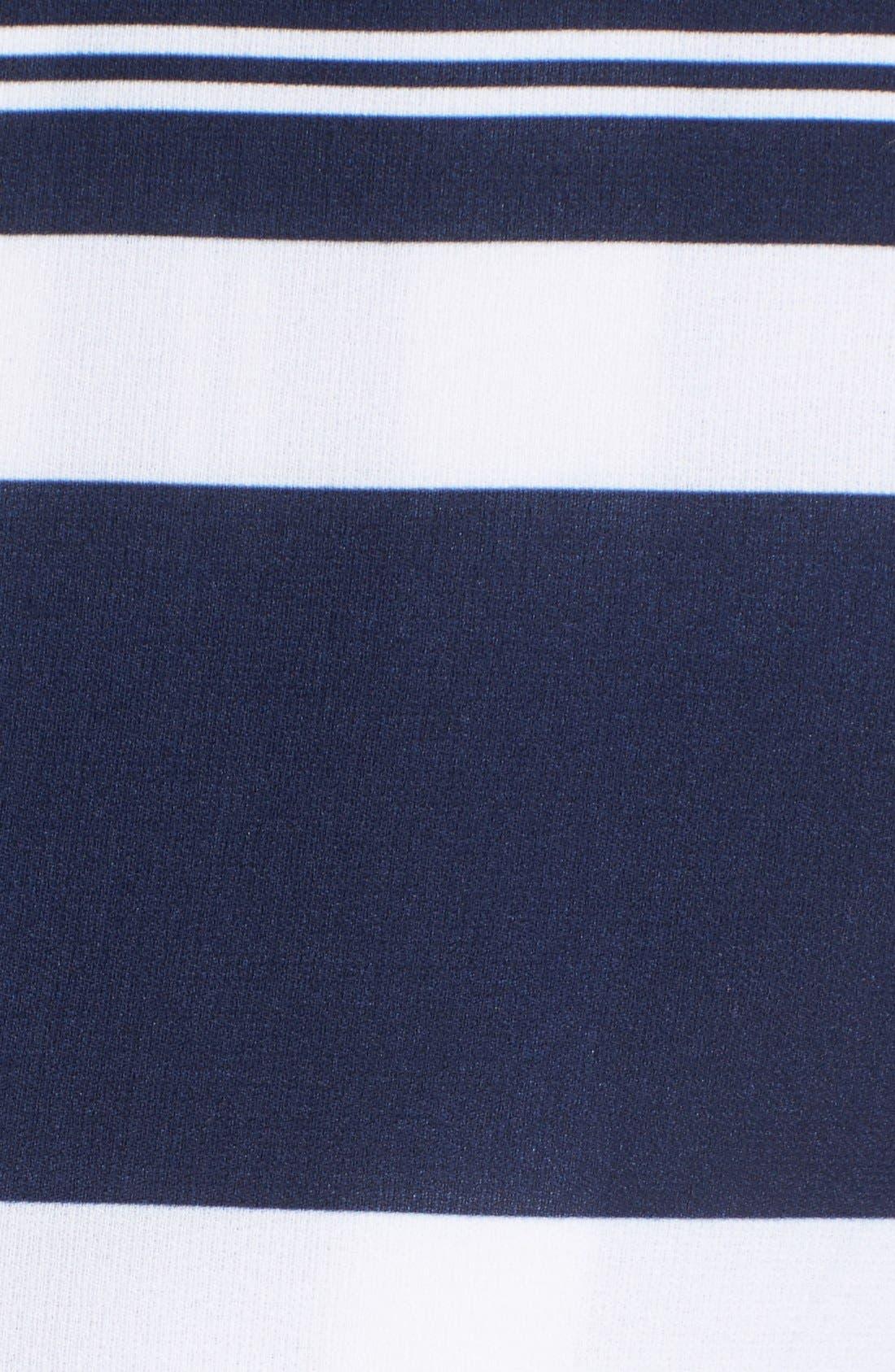 Stripe Wrap Skort,                             Alternate thumbnail 5, color,                             400