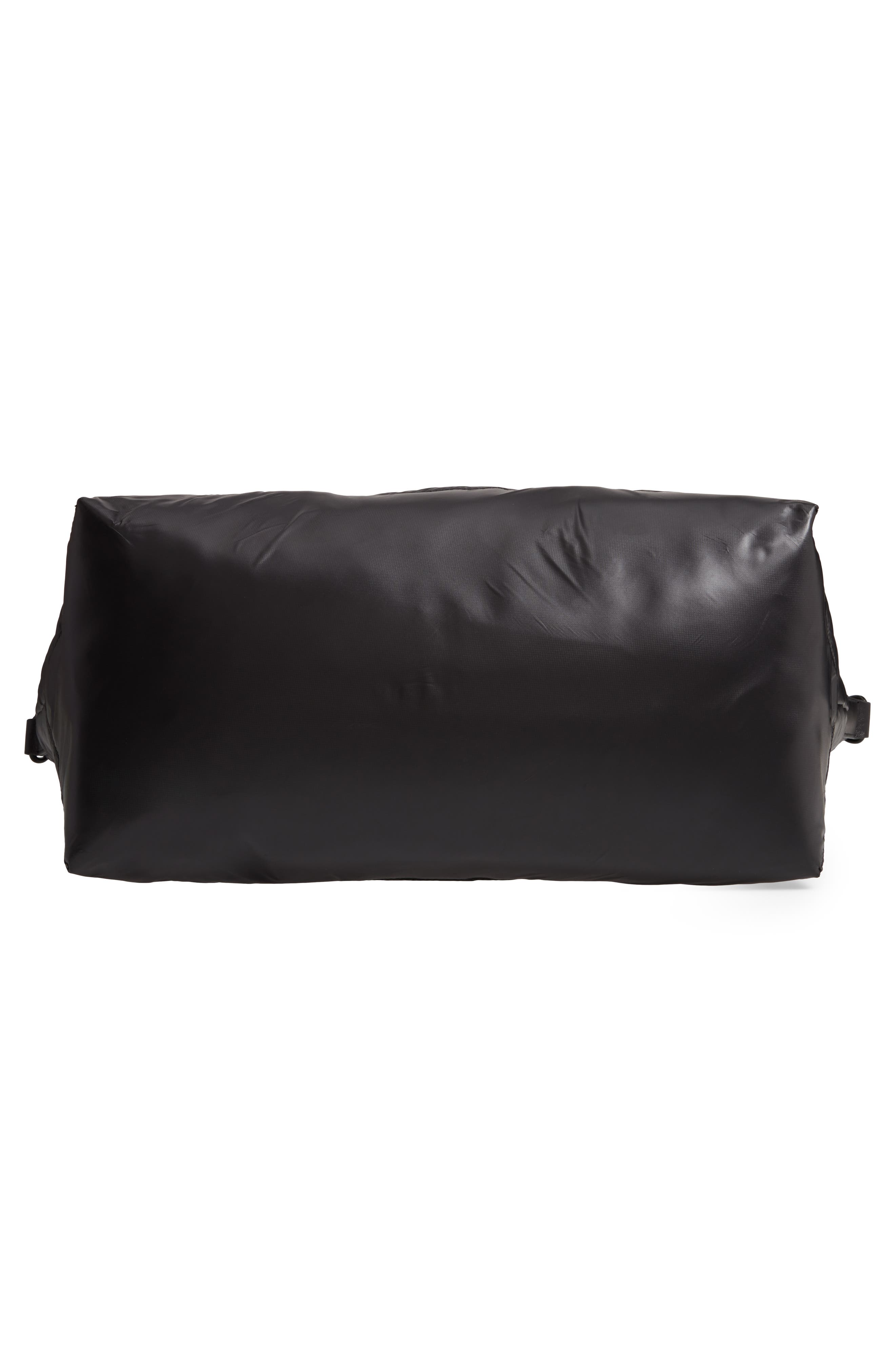 Puffy Nylon Duffel Bag,                             Alternate thumbnail 6, color,                             001