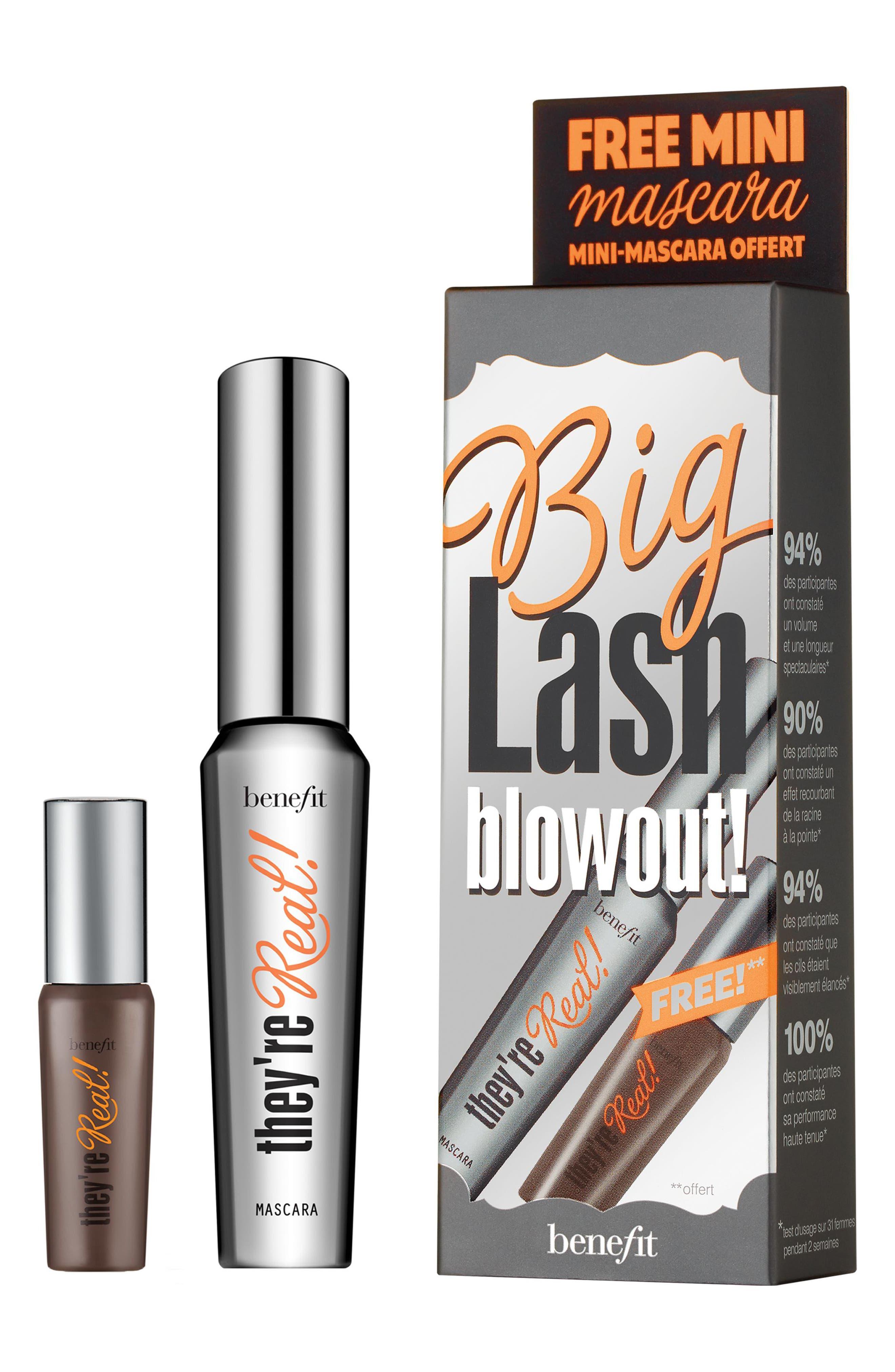 Benefit They're Real! Big Lash Blowout Duo,                             Main thumbnail 1, color,                             000