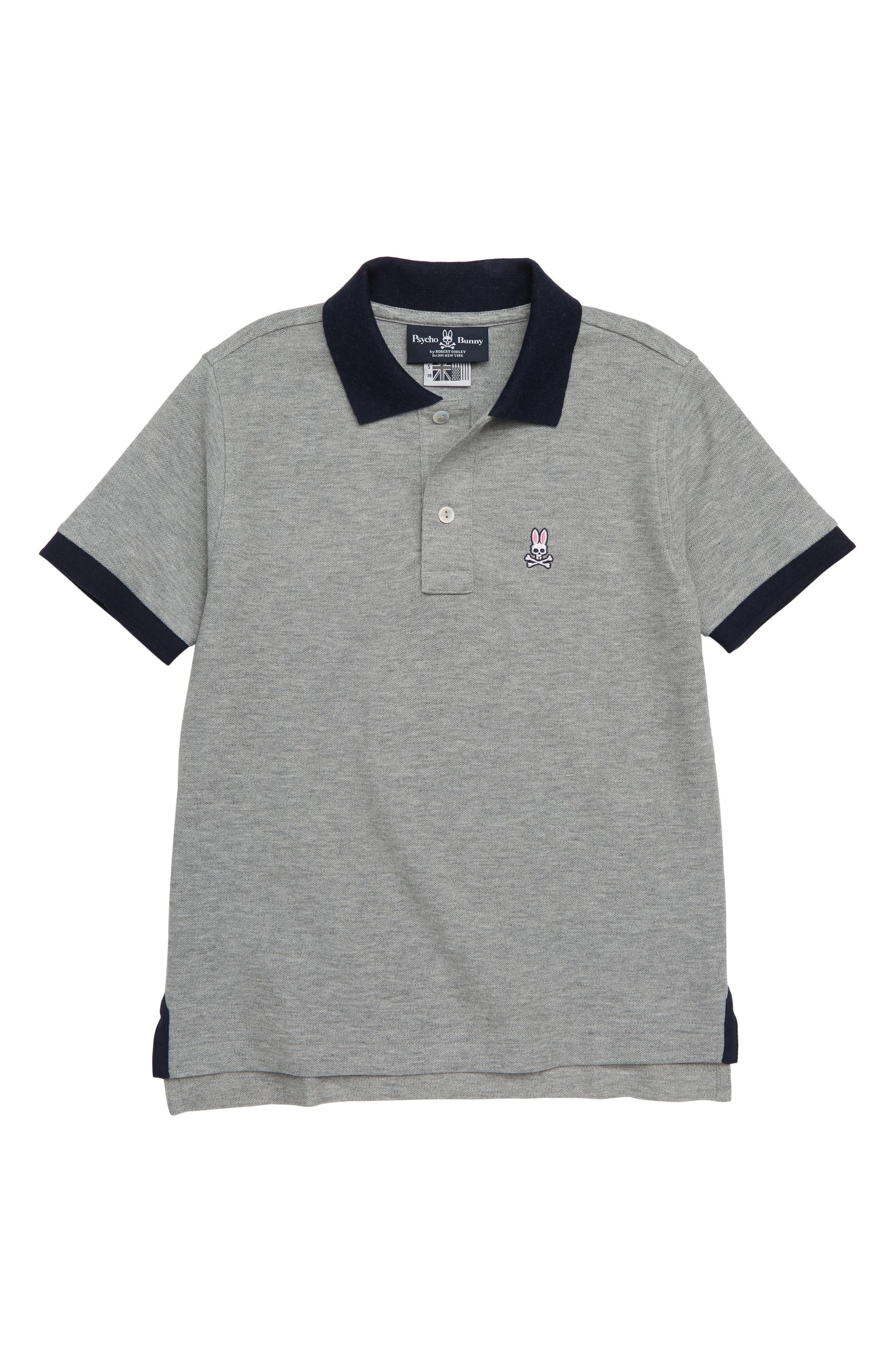 Contrast Collar Polo,                         Main,                         color, 063