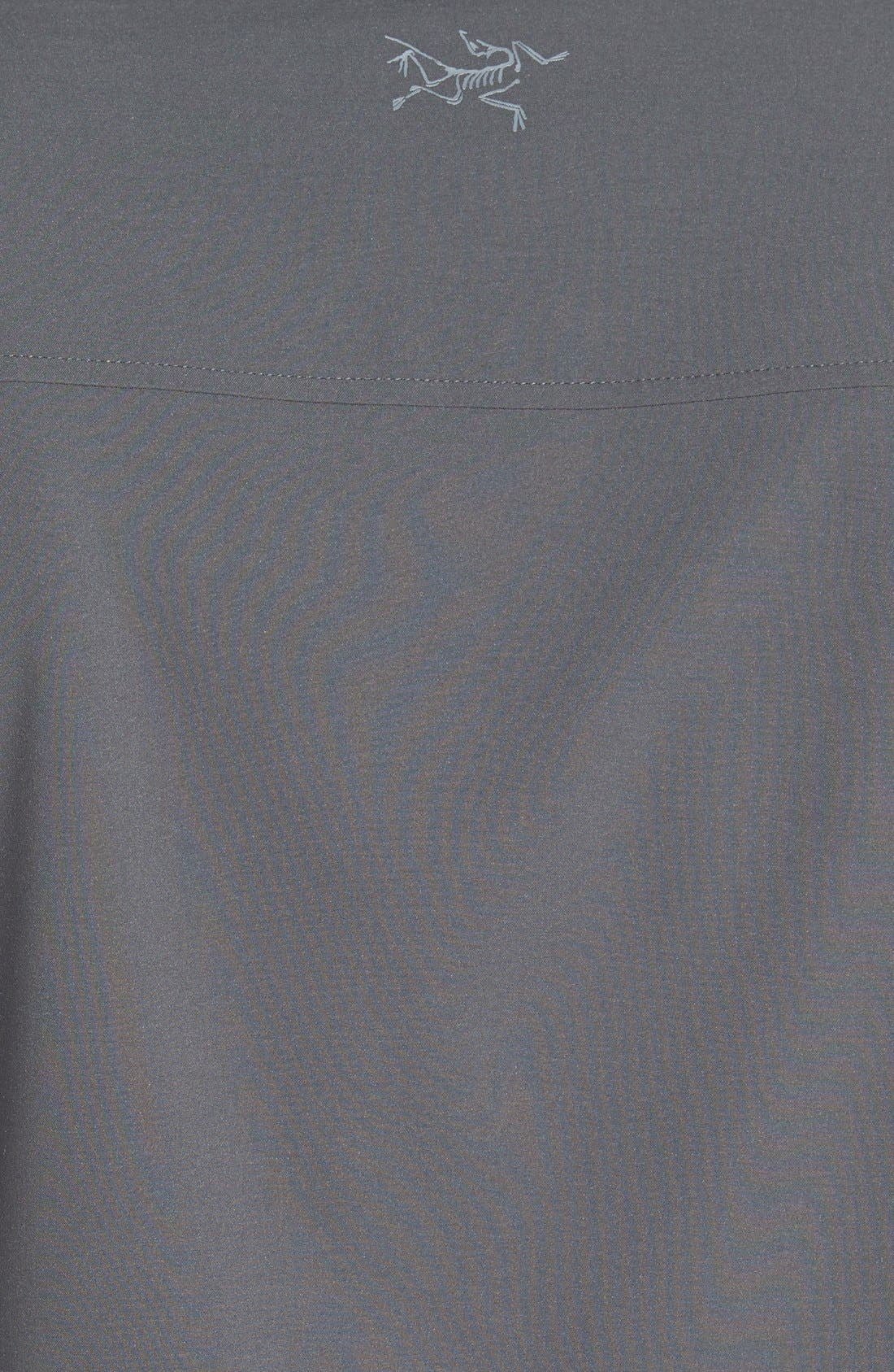 'Skyline' Trim Fit Sport Shirt,                             Alternate thumbnail 3, color,                             030