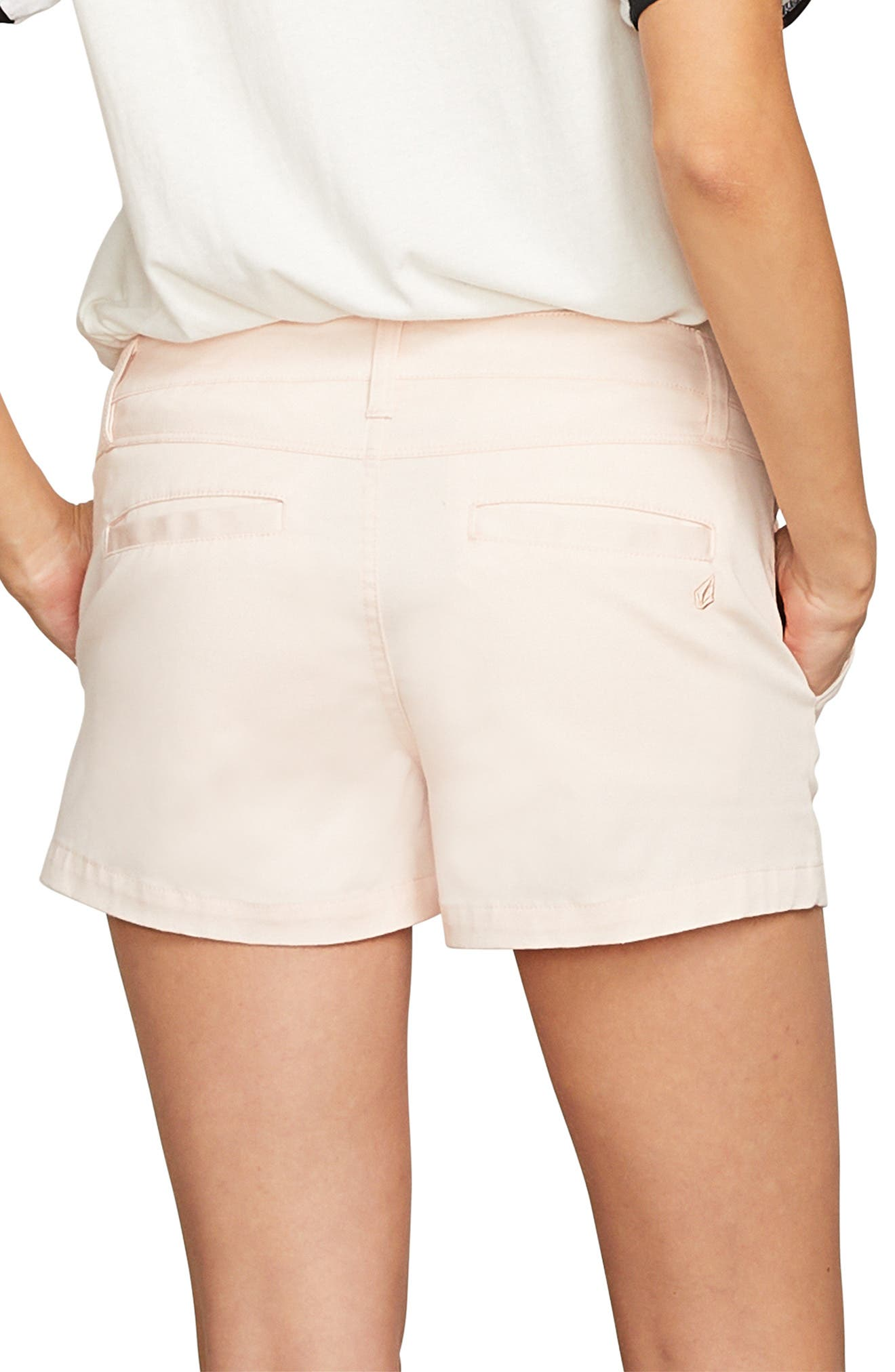 Frochickie Chino Shorts,                             Alternate thumbnail 2, color,                             CLOUD PINK